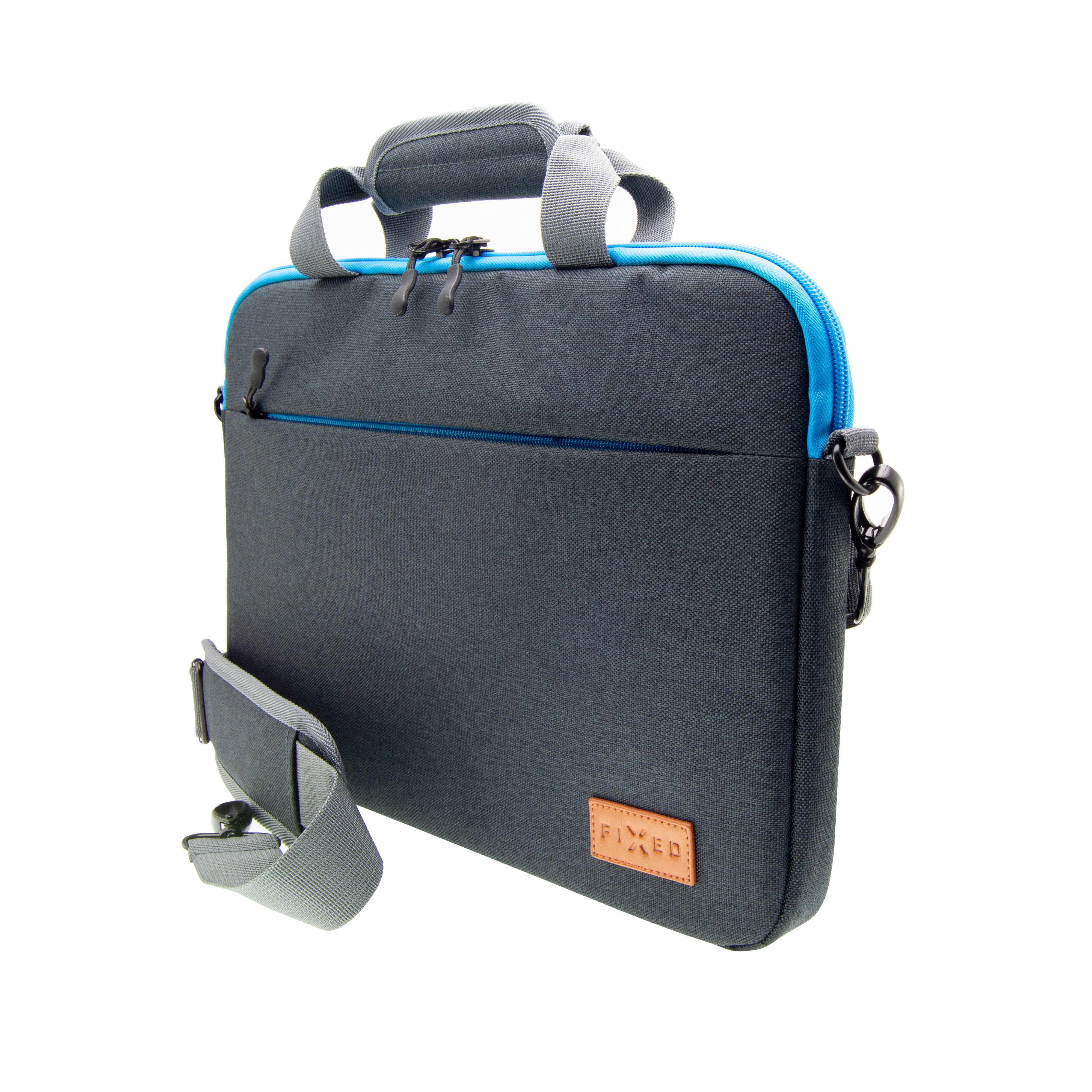 """Nylonová taška FIXED Urban pro tablety a netbooky do 11"""", černé"""