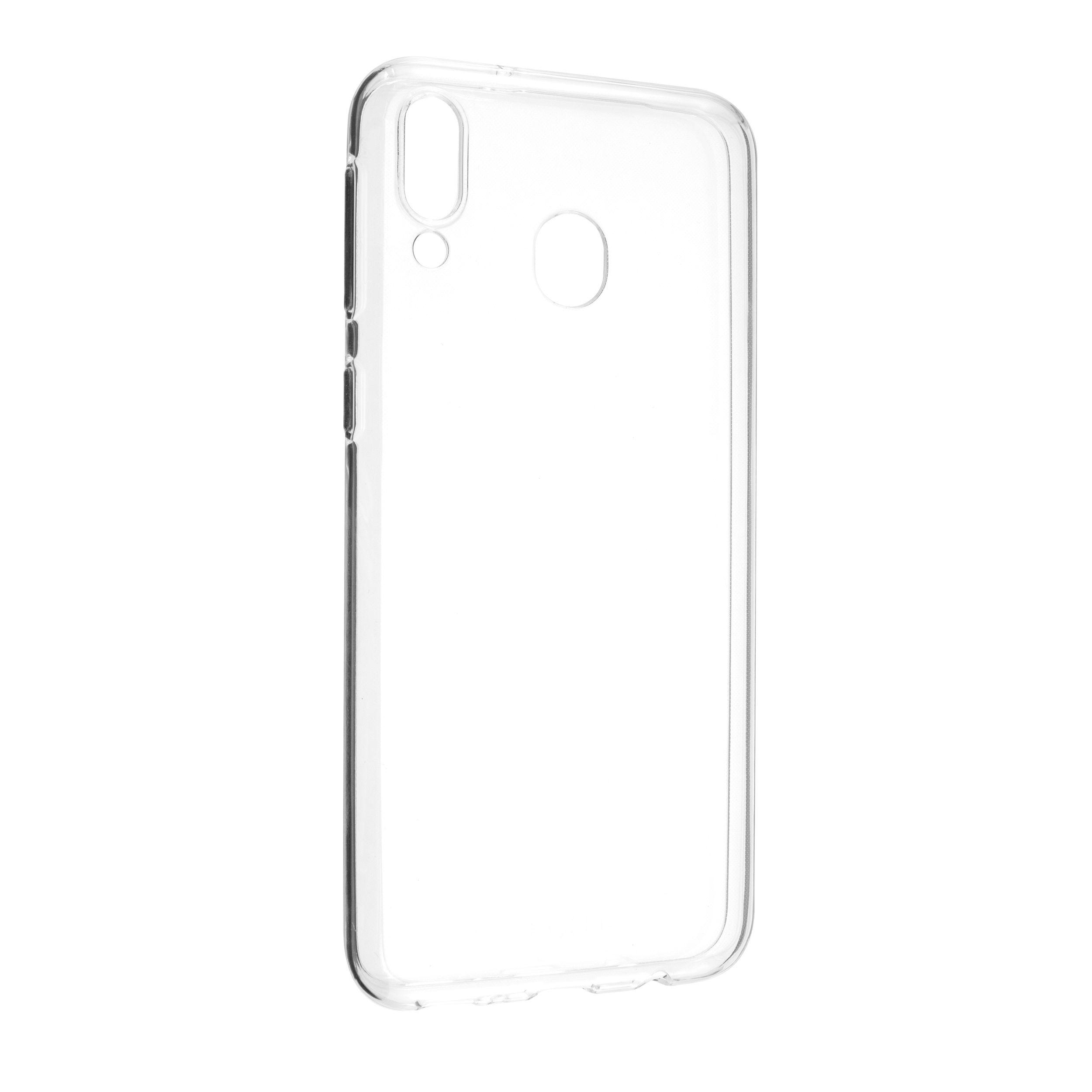 Ultratenké TPU gelové pouzdro FIXED Skin pro Samsung Galaxy M20, 0,6 mm, čiré