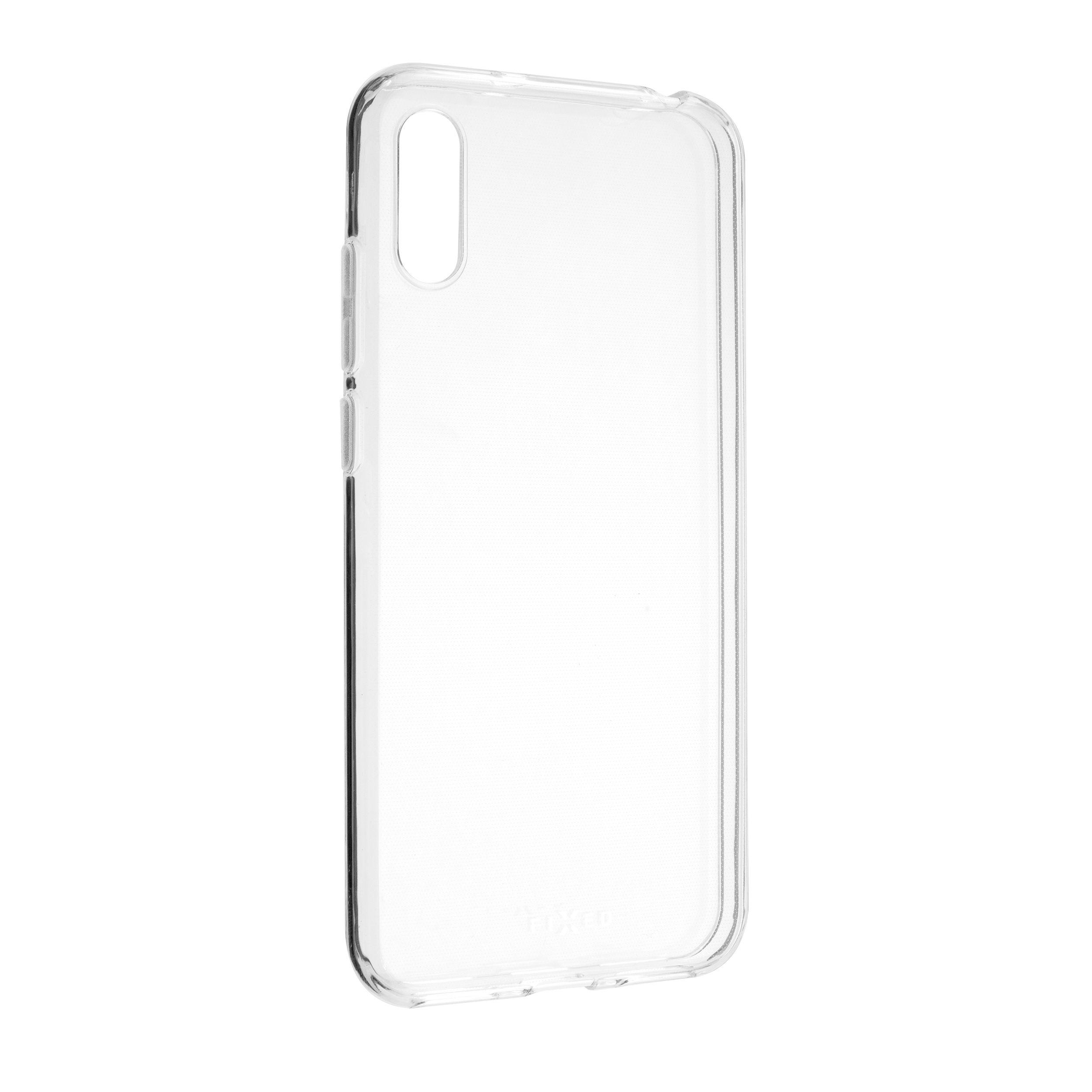Ultratenké TPU gelové pouzdro FIXED Skin pro Huawei Y6 (2019), 0,6 mm, čiré