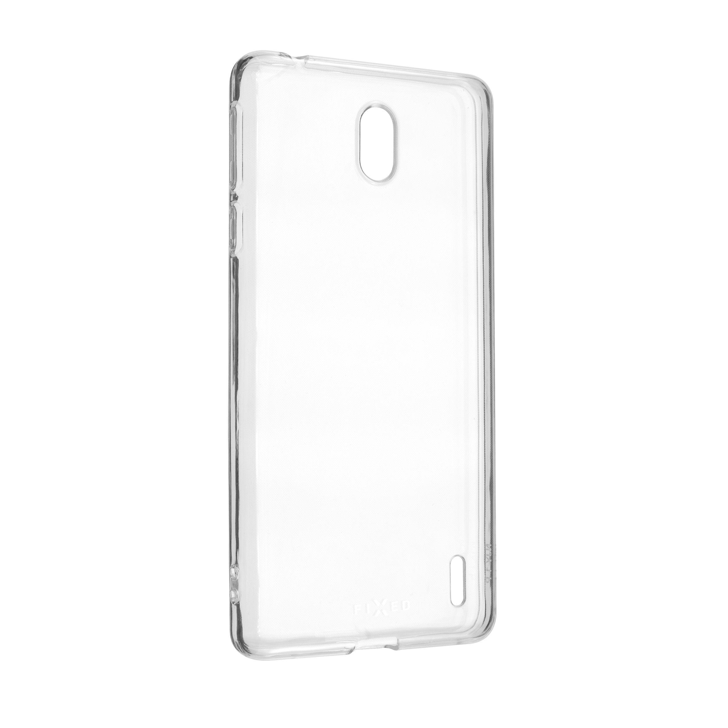 Ultratenké TPU gelové pouzdro FIXED Skin pro Nokia 1 Plus, 0,6 mm, čiré