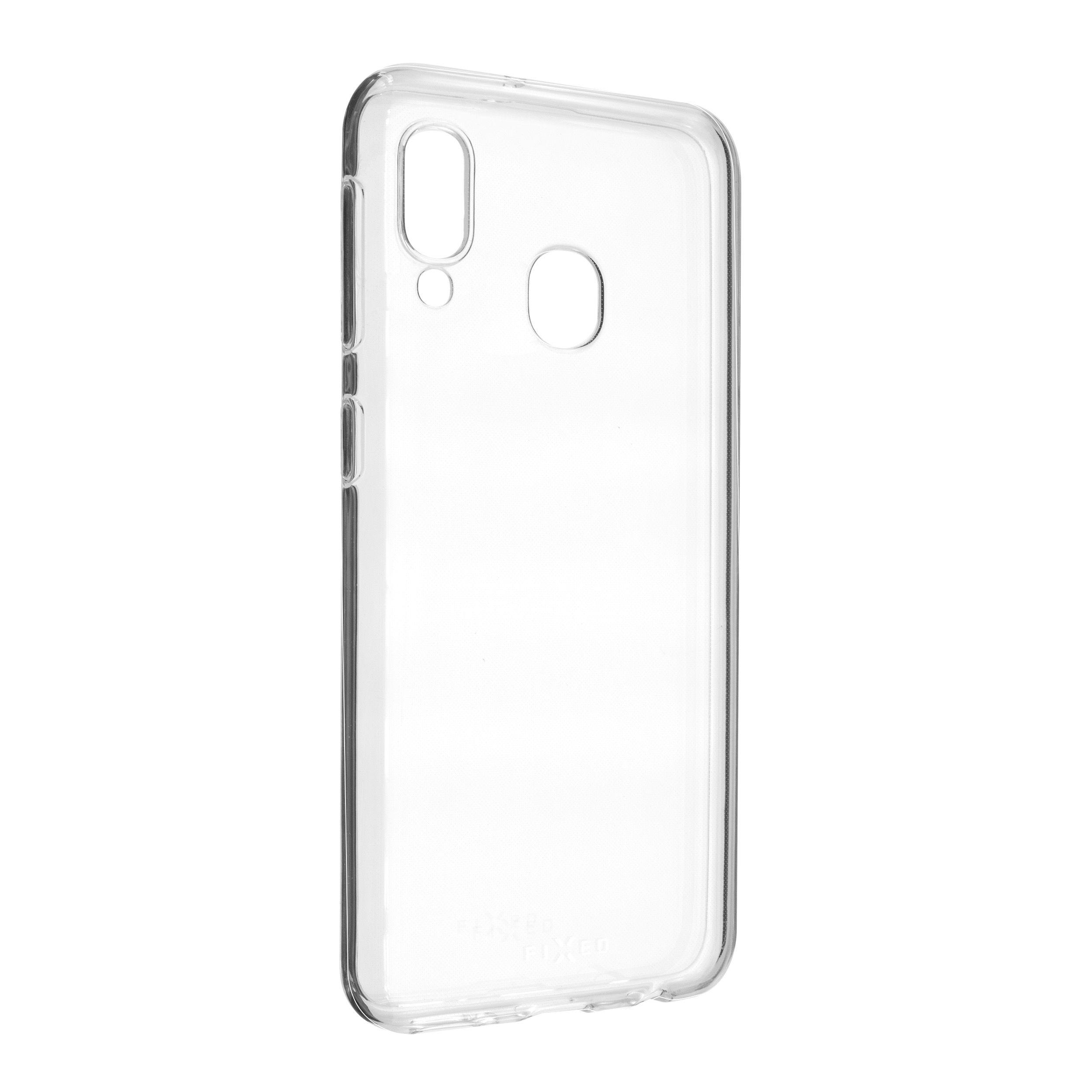 TPU gelové pouzdro FIXED pro Samsung Galaxy A20e, čiré