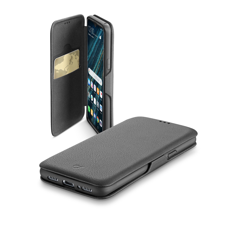 Pouzdro typu kniha CellularLine Book Clutch pro Huawei P30, černé