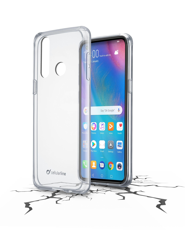 Zadní čirý kryt s ochranným rámečkem Cellularline CLEAR DUO pro Huawei P30 Lite