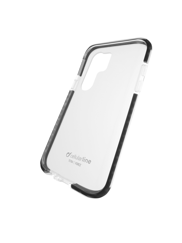 Ultra ochranné pouzdro Cellularline Tetra Force Shock-Twist pro Huawei P30 Pro, 2 stupně ochrany, transparentní
