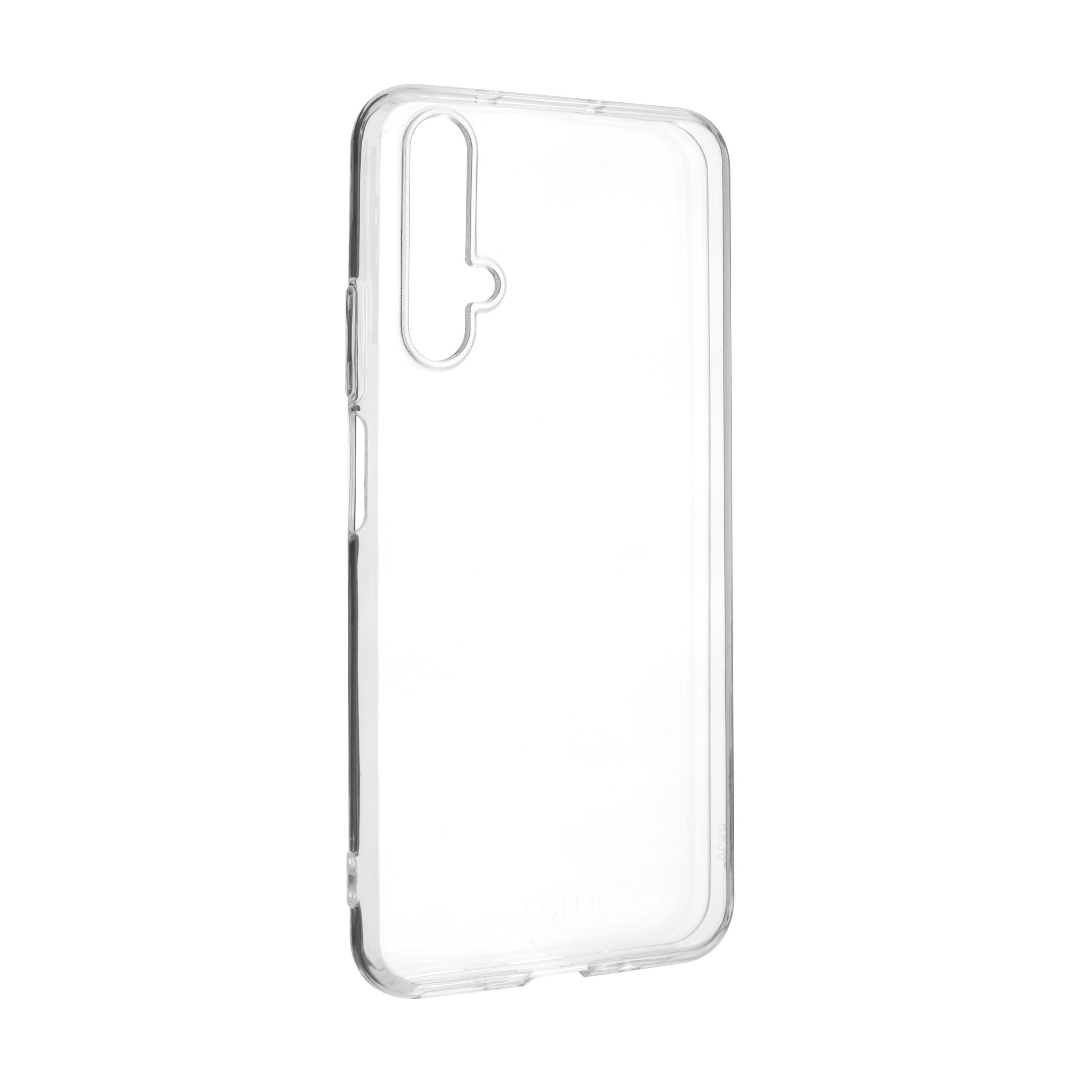 Ultratenké TPU gelové pouzdro FIXED Skin pro Honor 20/Huawei nova 5T, 0,6 mm, čiré