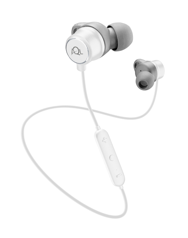 Sportovní bezdrátová sluchátka Cellularline Speed, AQL® certifikace, bílá