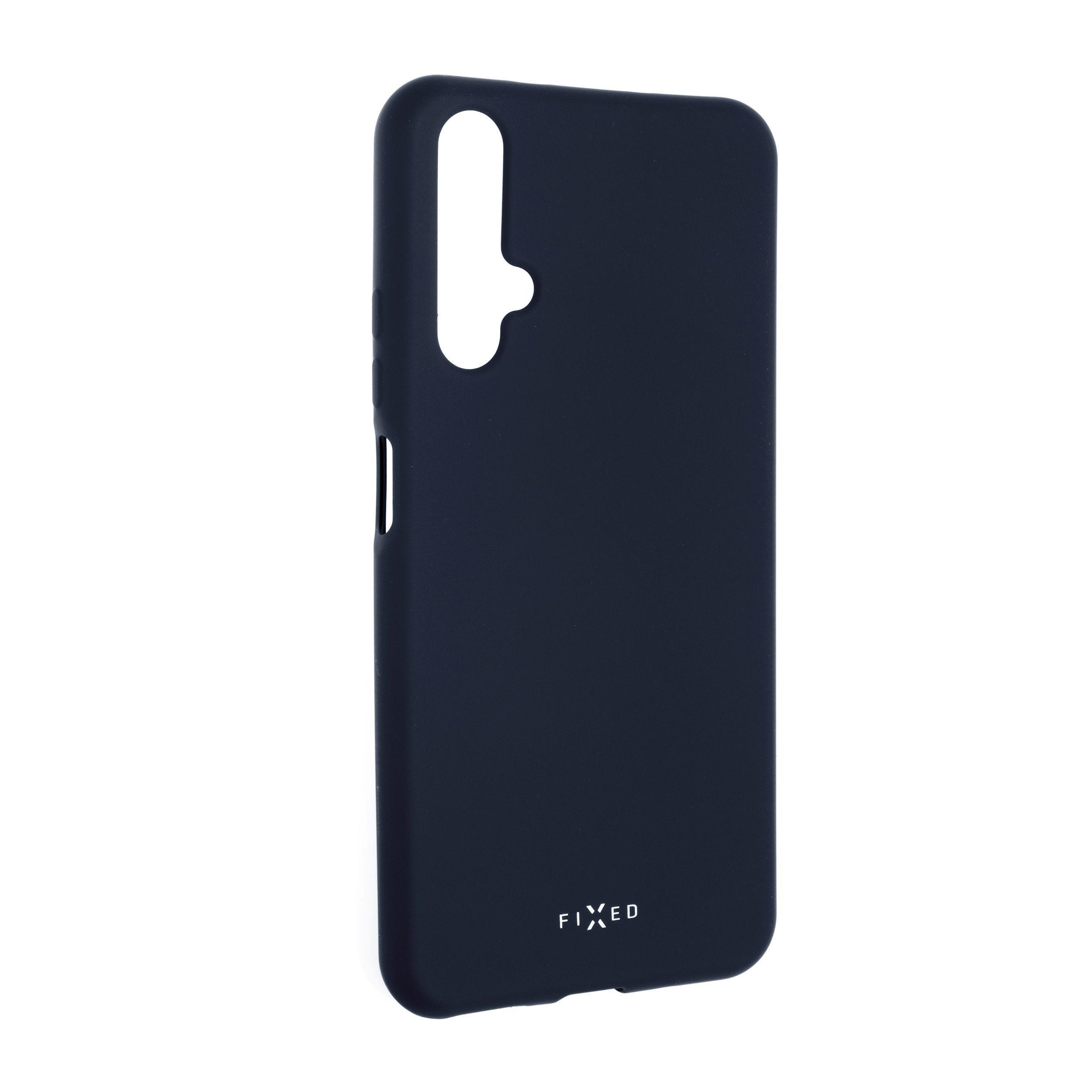 Zadní pogumovaný kryt FIXED Story pro Honor 20/Huawei nova 5T, modrý