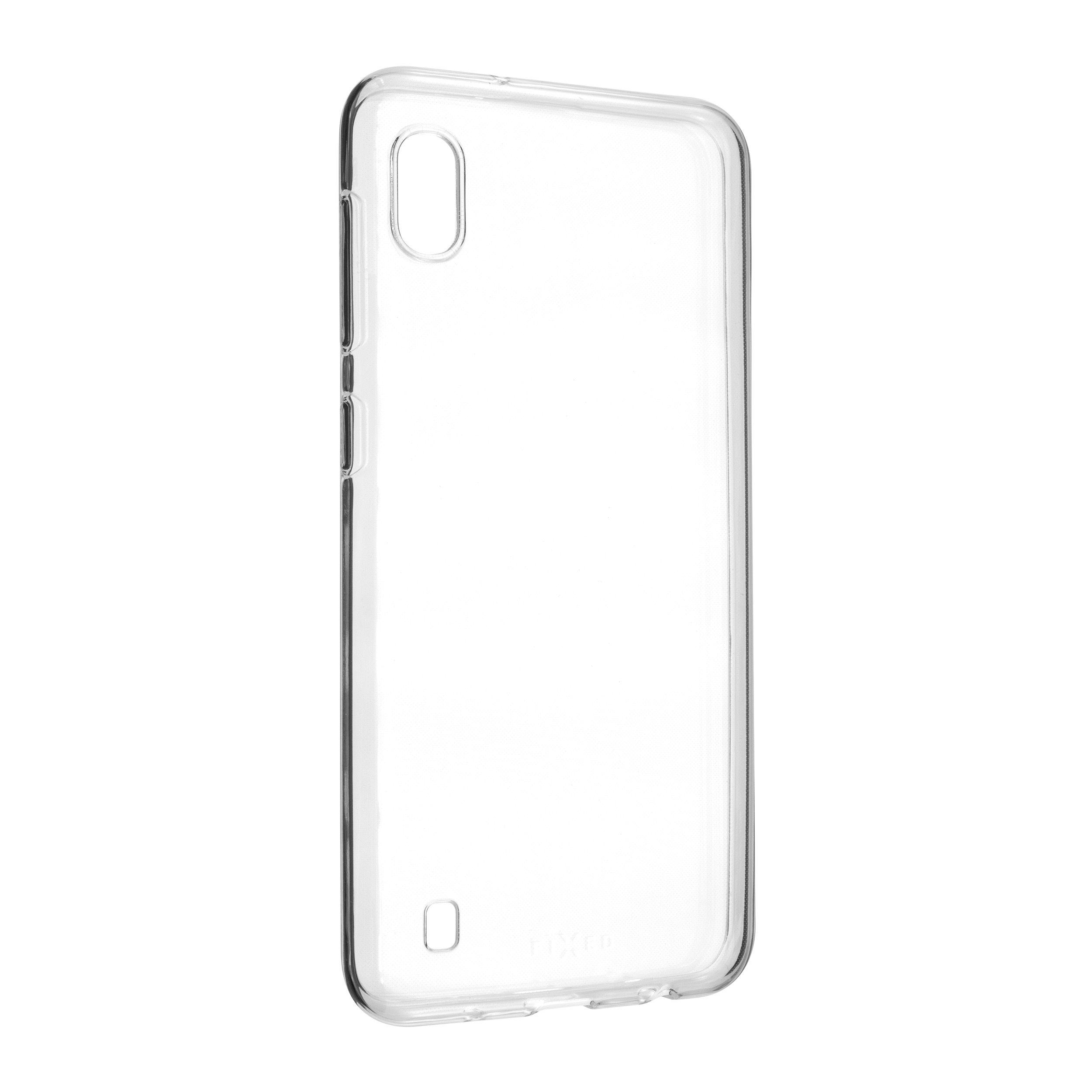 Ultratenké TPU gelové pouzdro FIXED Skin pro Samsung Galaxy A10, 0,6 mm, čiré