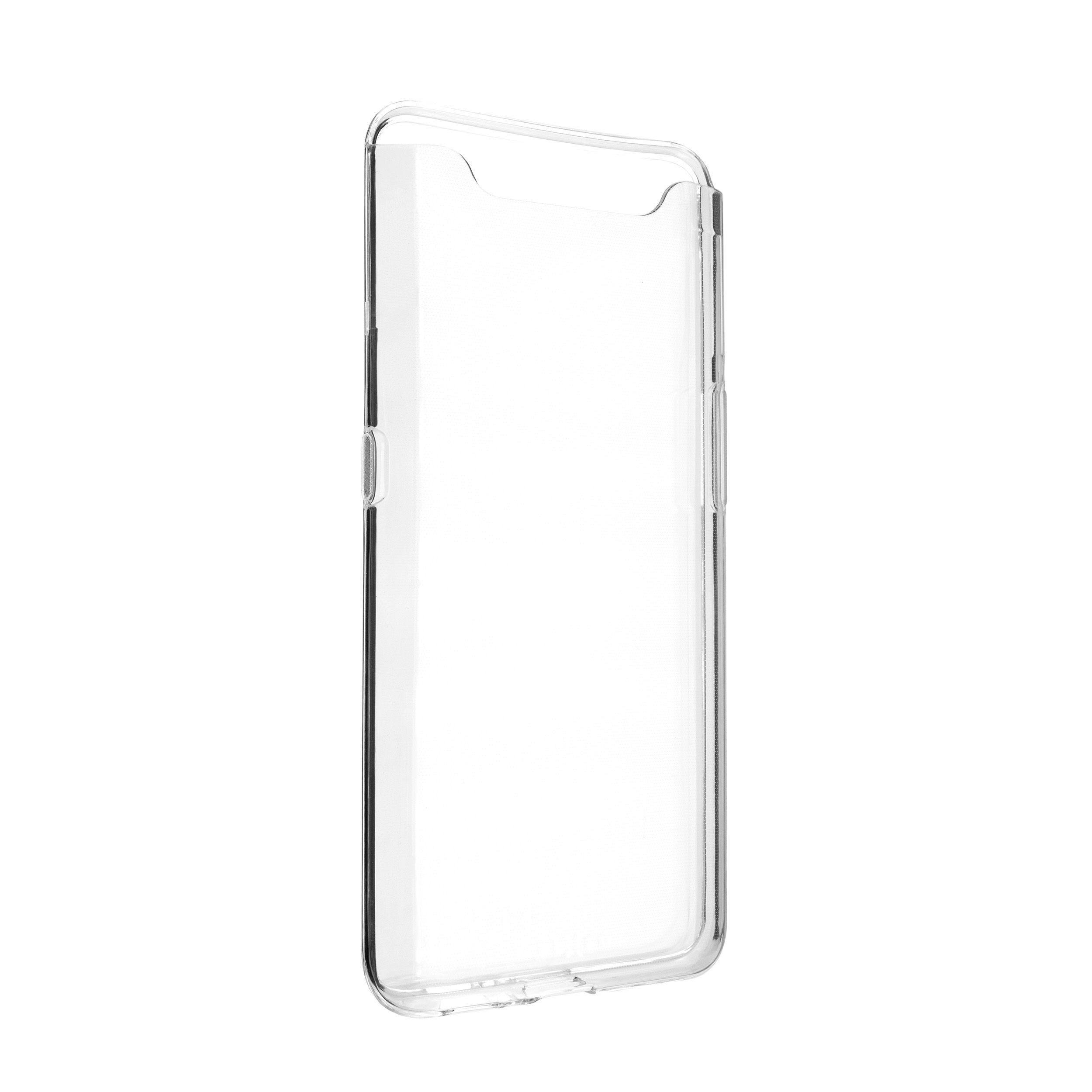 Ultratenké TPU gelové pouzdro FIXED Skin pro Samsung Galaxy A80, 0,6 mm, čiré