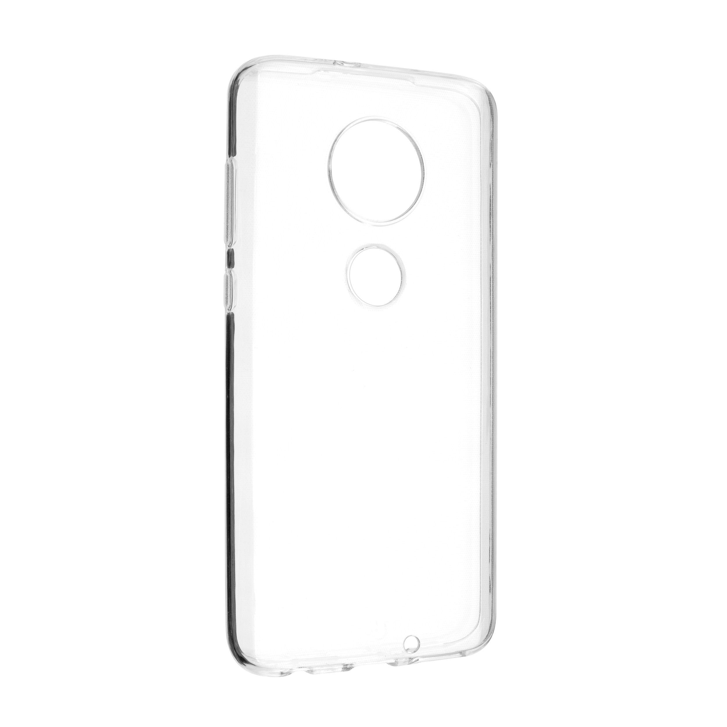 Ultratenké TPU gelové pouzdro FIXED Skin pro Motorola Moto G7, 0,6 mm, čiré