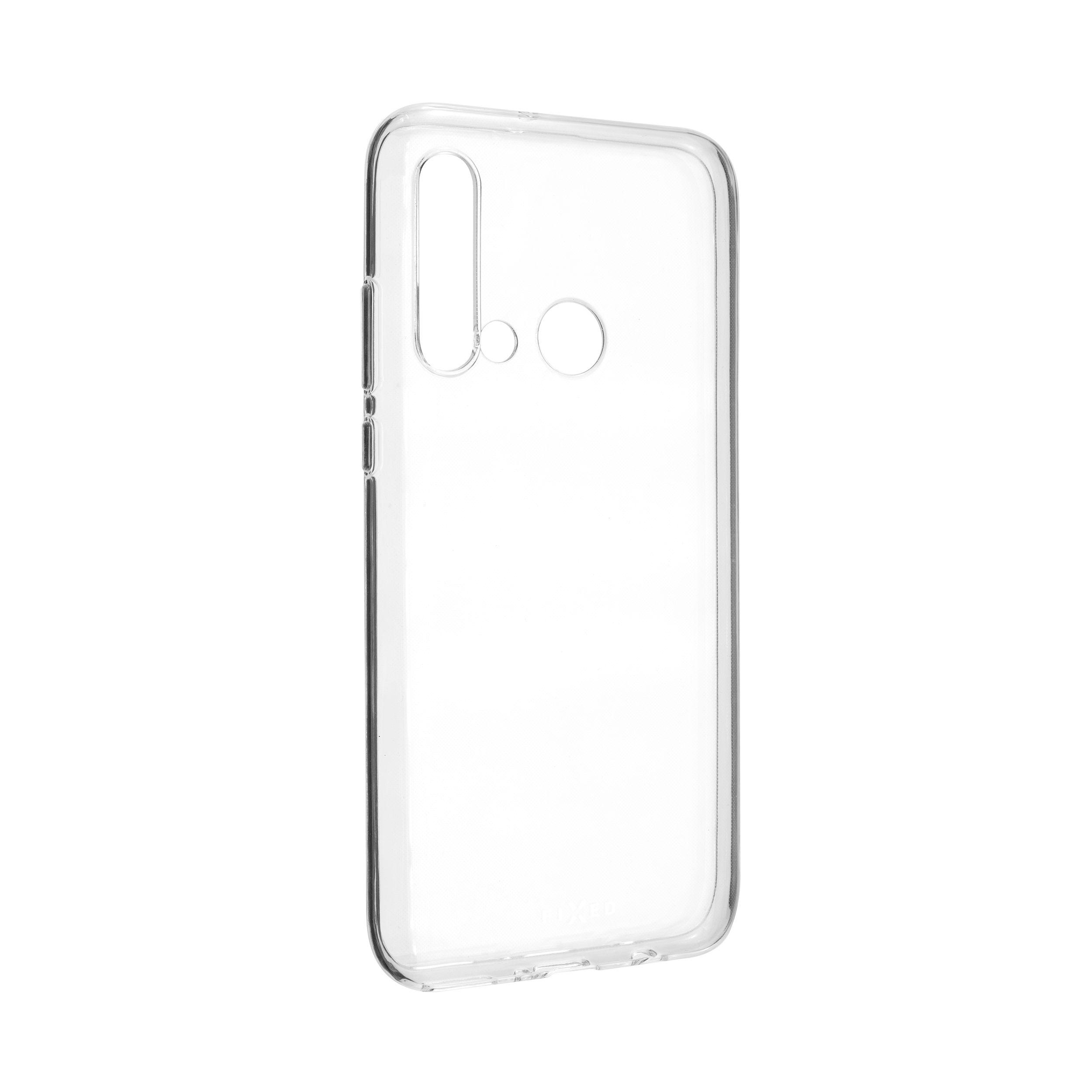 Ultratenké TPU gelové pouzdro FIXED Skin pro Huawei P20 Lite (2019), 0,6 mm, čiré