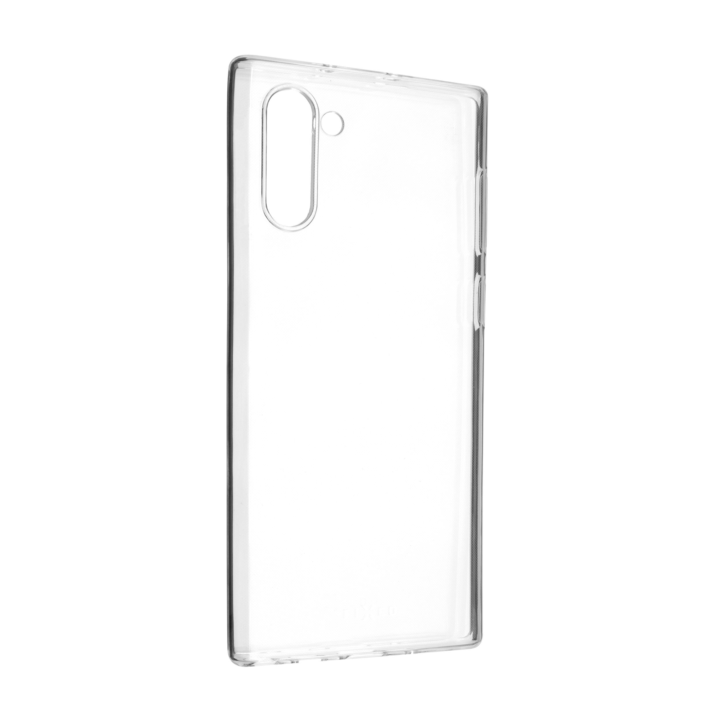Ultratenké TPU gelové pouzdro FIXED Skin pro Samsung Galaxy Note10, 0,6 mm, čiré