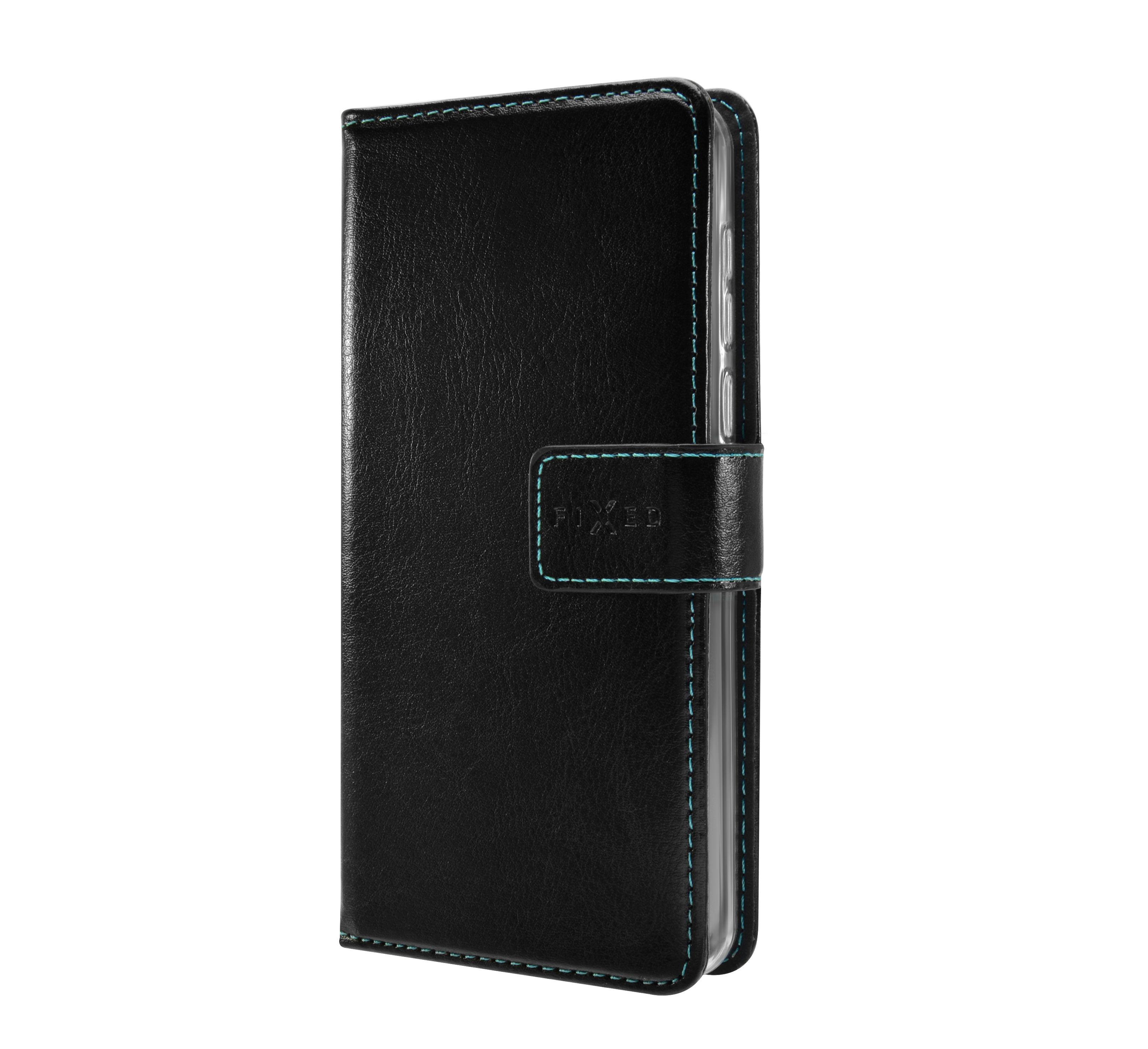 Pouzdro typu kniha FIXED Opus pro Motorola One Vision, černé
