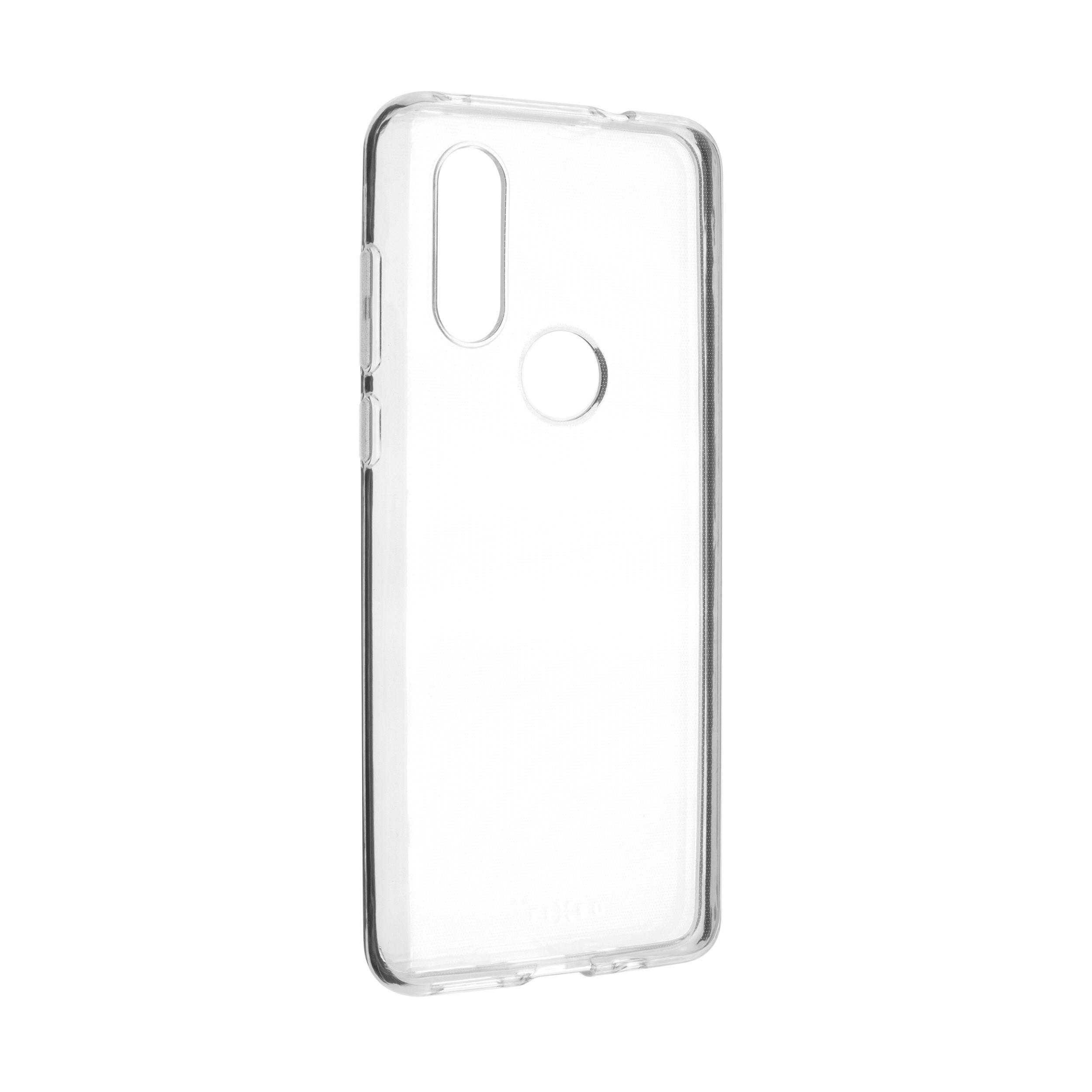 TPU gelové pouzdro FIXED pro Motorola One Vision, čiré