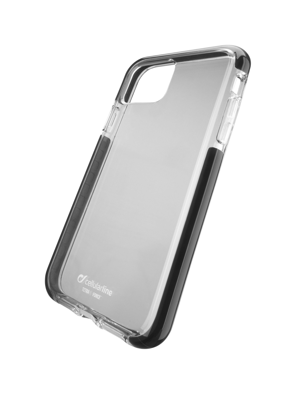 Ultra ochranné pouzdro Cellularline Tetra Force Shock-Twist pro Apple iPhone 11 Pro, 2 stupně ochrany, transparentní