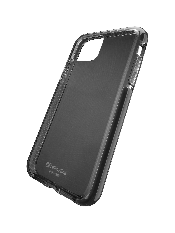 Ultra ochranné pouzdro Cellularline Tetra Force Shock-Twist pro Apple iPhone 11 Pro Max, 2 stupně ochrany, černé