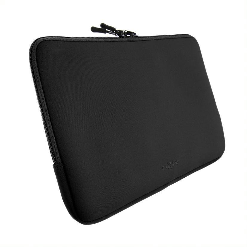 """Neoprenové pouzdro FIXED Sleeve pro notebooky o úhlopříčce do 15,6"""", černé"""
