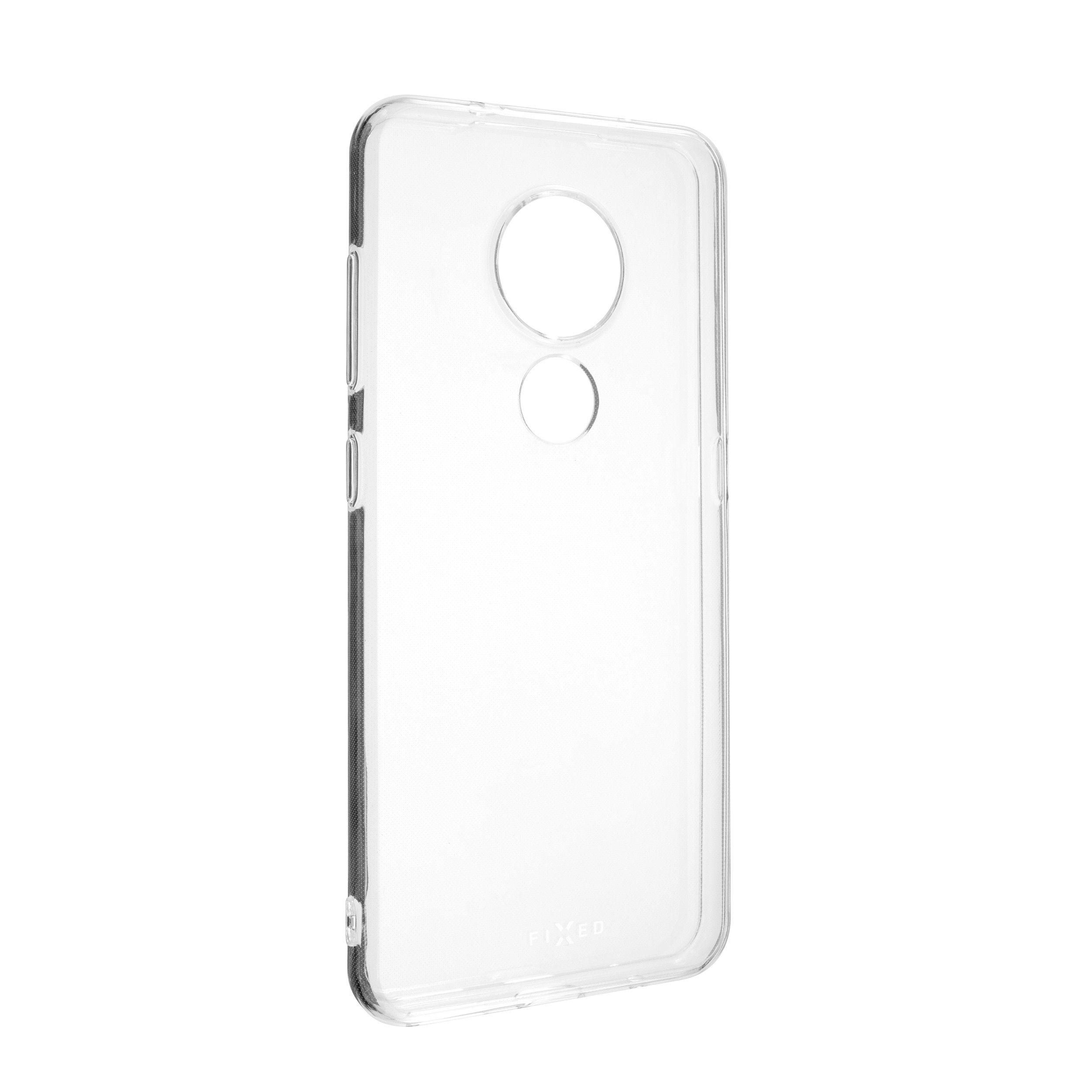 TPU gelové pouzdro FIXED pro Nokia 7.2, čiré