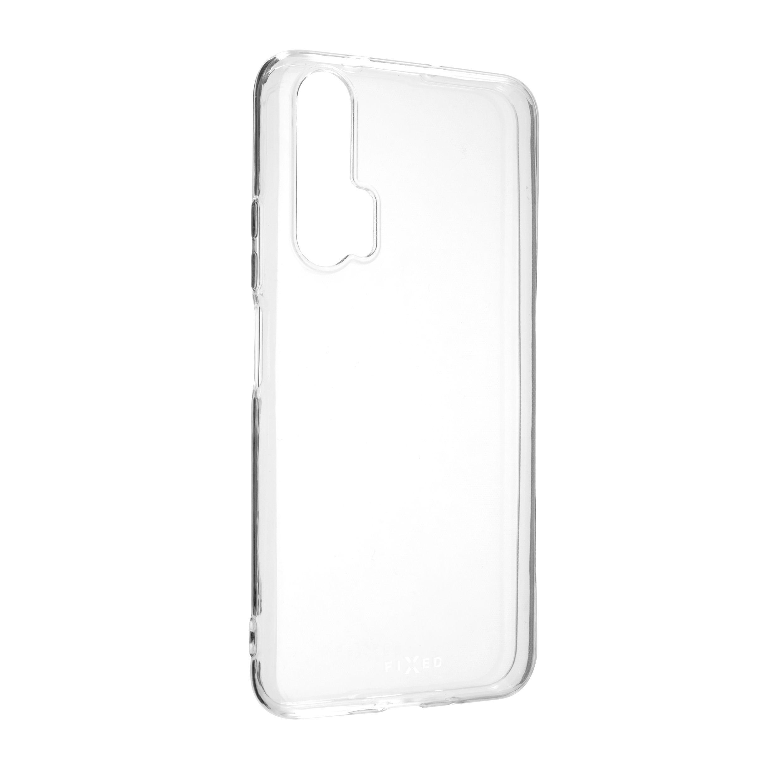 Ultratenké TPU gelové pouzdro FIXED Skin pro Honor 20 Pro, 0,6 mm, čiré