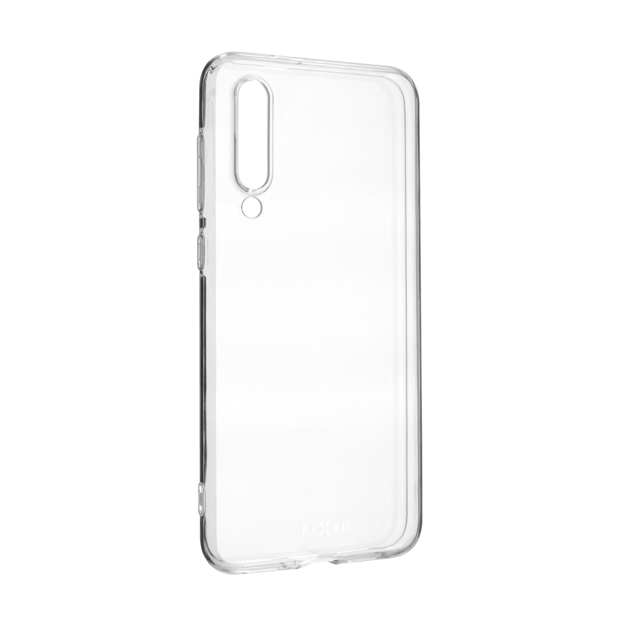 Ultratenké TPU gelové pouzdro FIXED Skin pro Xiaomi Mi9 SE, 0,6 mm, čiré