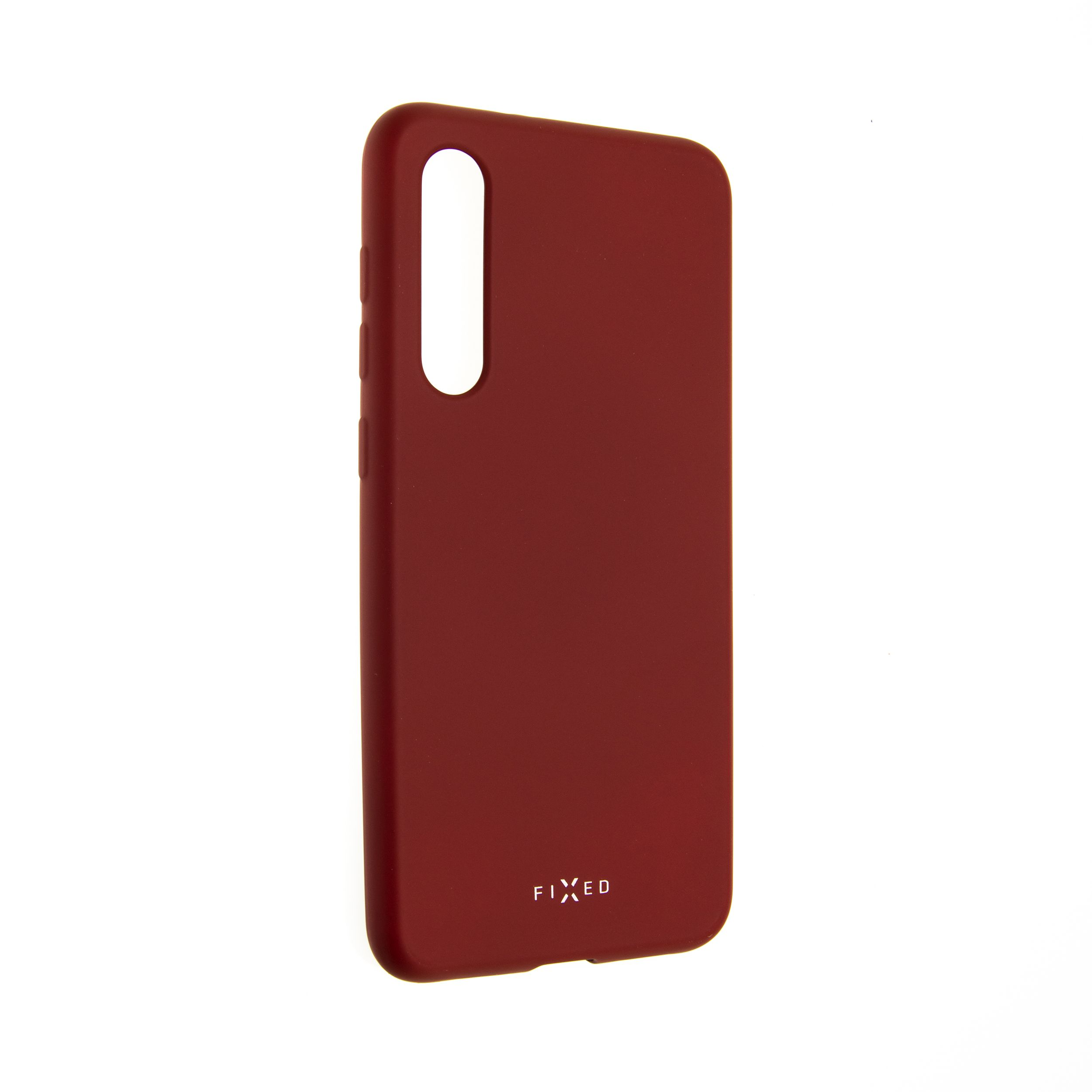 Zadní pogumovaný kryt FIXED Story pro Xiaomi Mi9 SE, červený