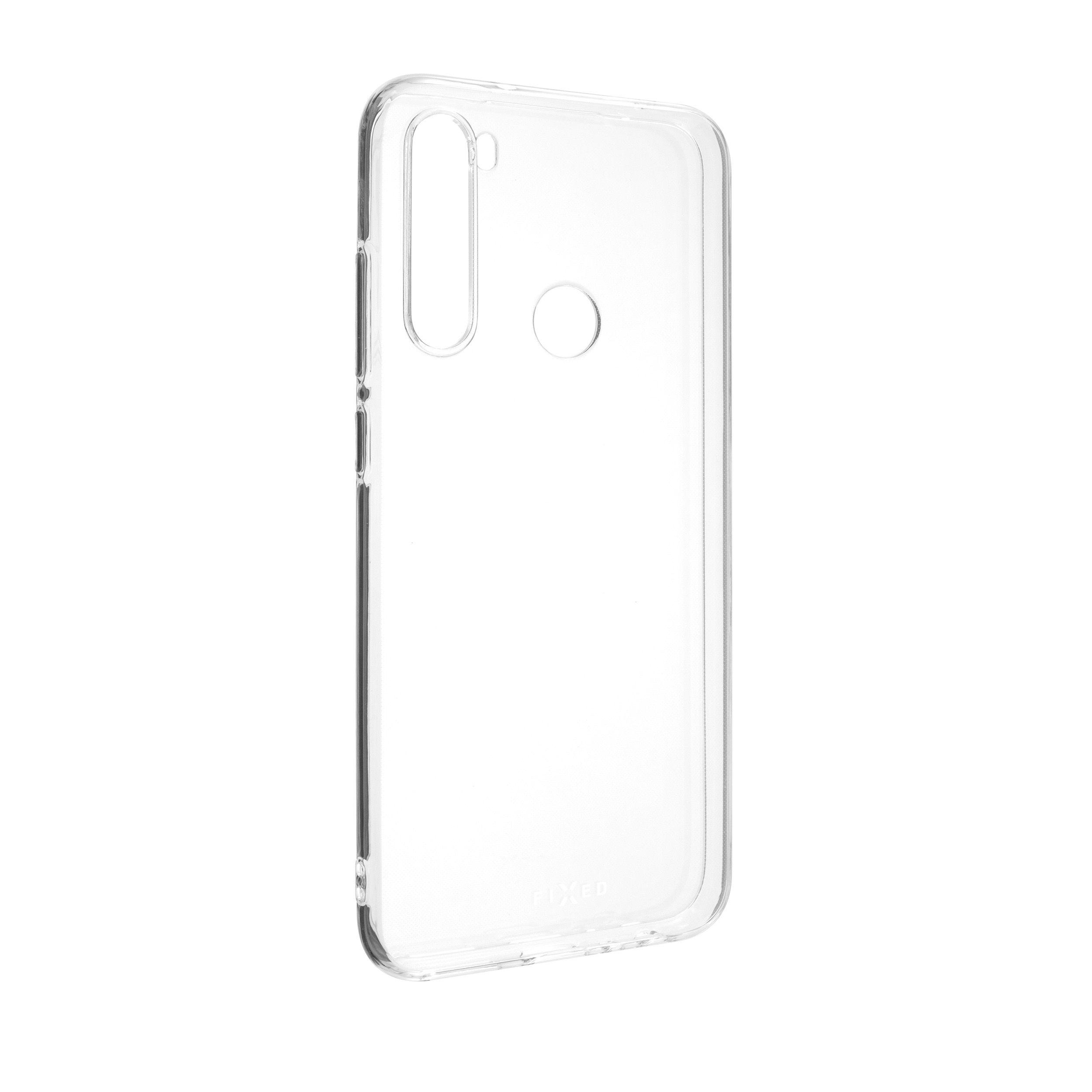 Ultratenké TPU gelové pouzdro FIXED Skin pro Xiaomi Redmi Note 8T, 0,6 mm, čiré