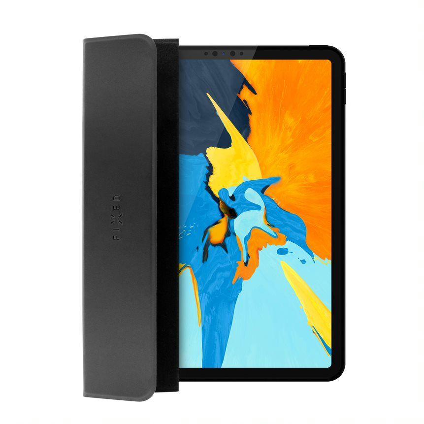 Pouzdro FIXED Padcover pro Apple iPad Mini 5 (2019)/Mini 4 se stojánkem, podpora Sleep and Wake, temné šedé