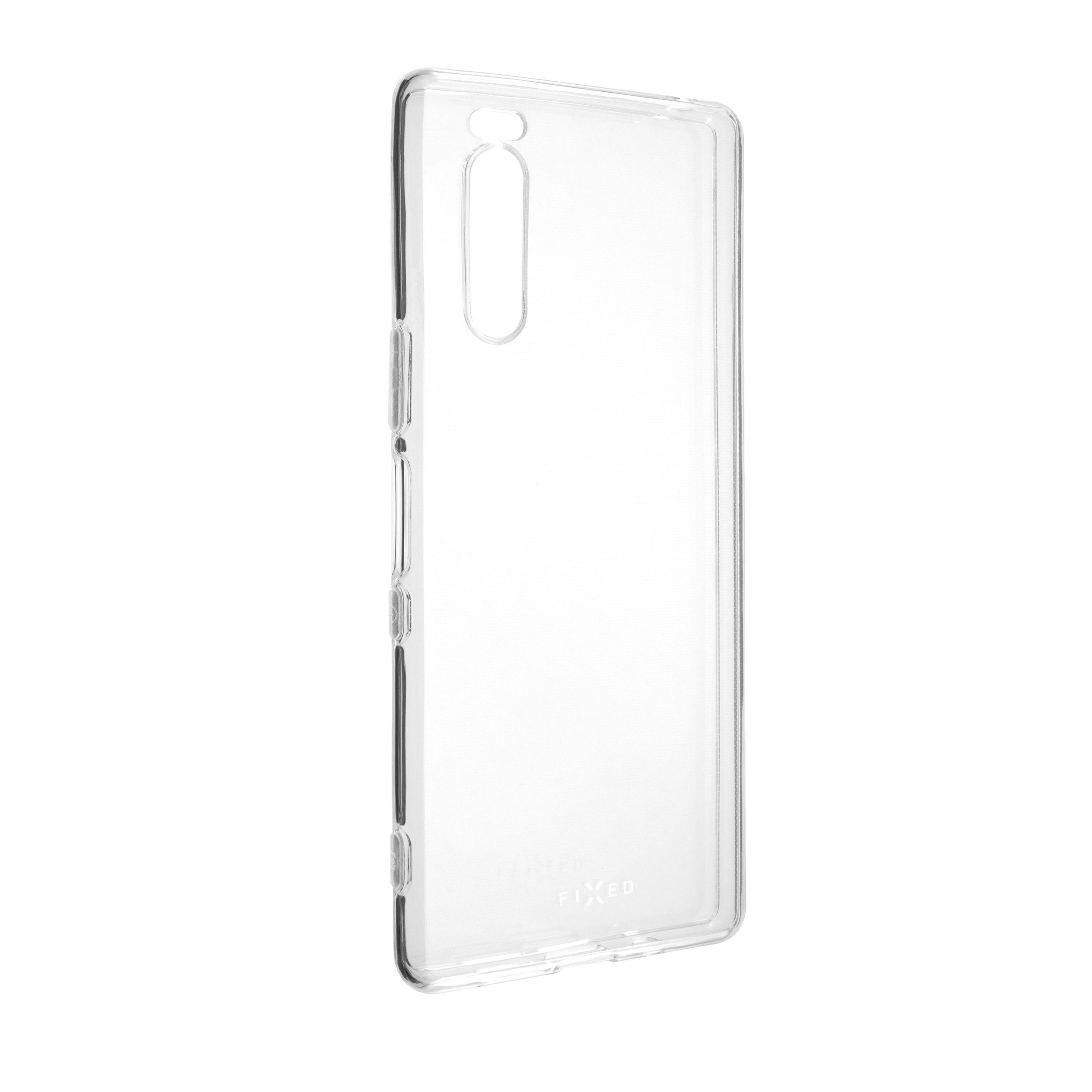 TPU gelové pouzdro FIXED pro Sony Xperia 5, čiré