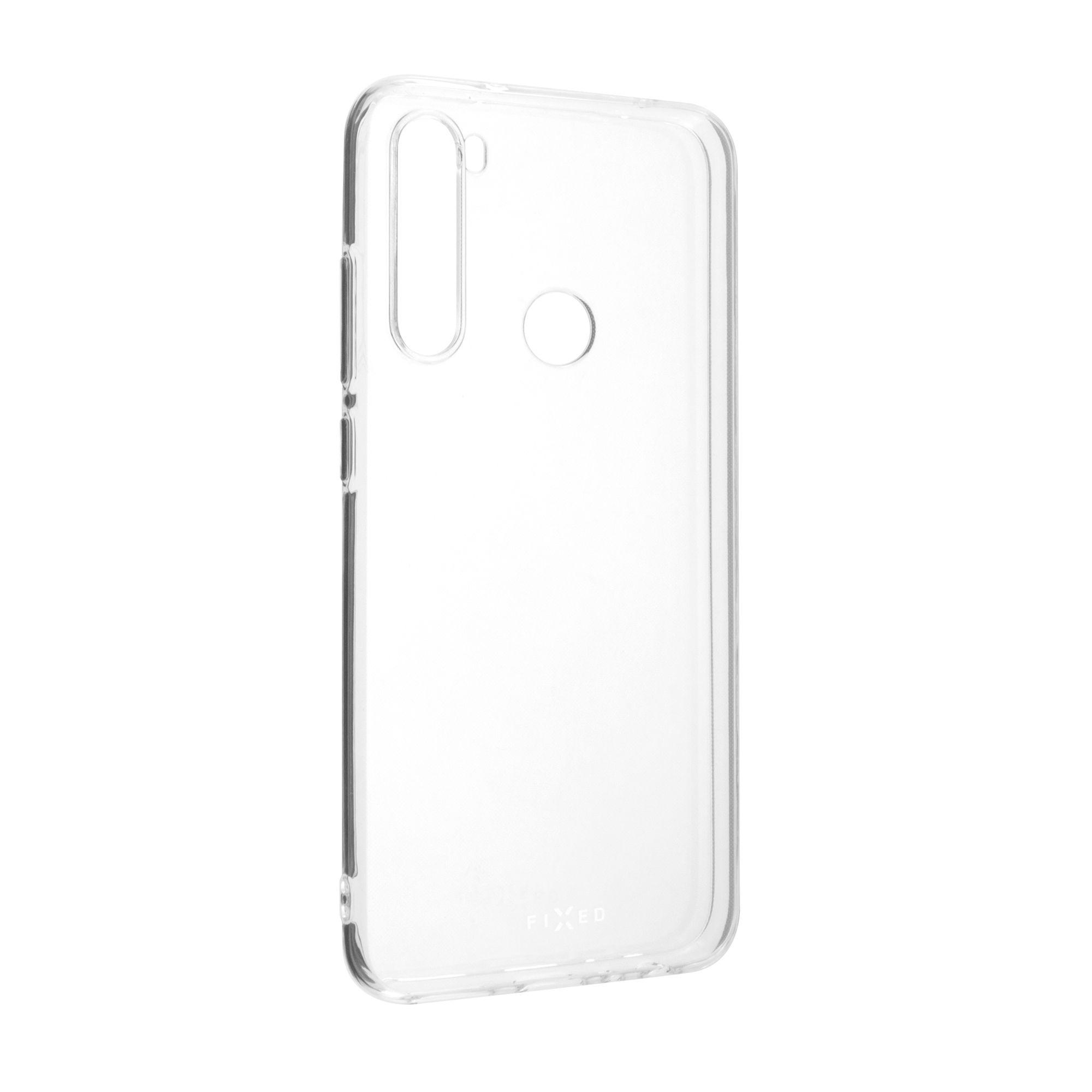 TPU gelové pouzdro FIXED pro Xiaomi Redmi Note 8, čiré