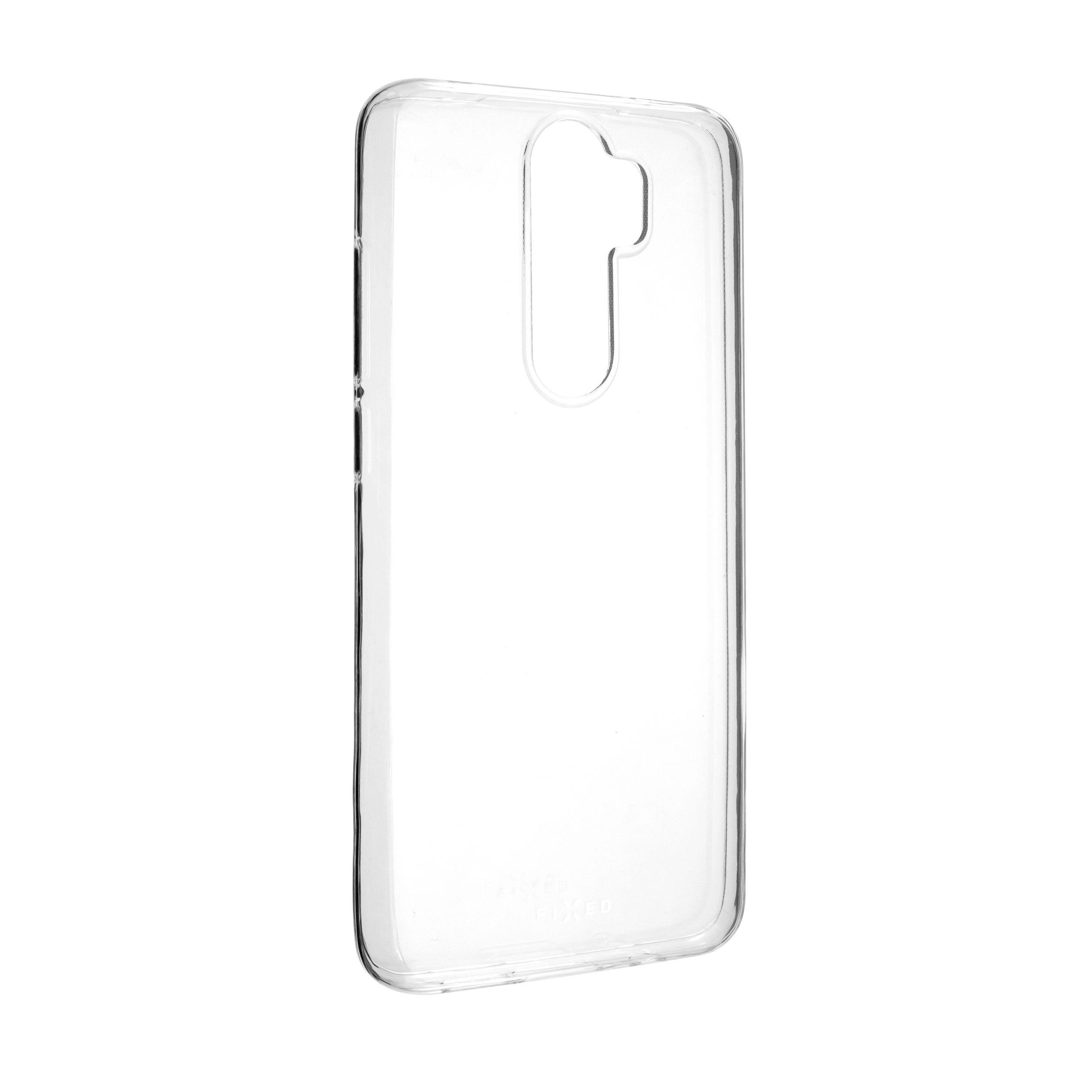 Ultratenké TPU gelové pouzdro FIXED Skin pro Xiaomi Redmi Note 8 Pro, 0,6 mm, čiré