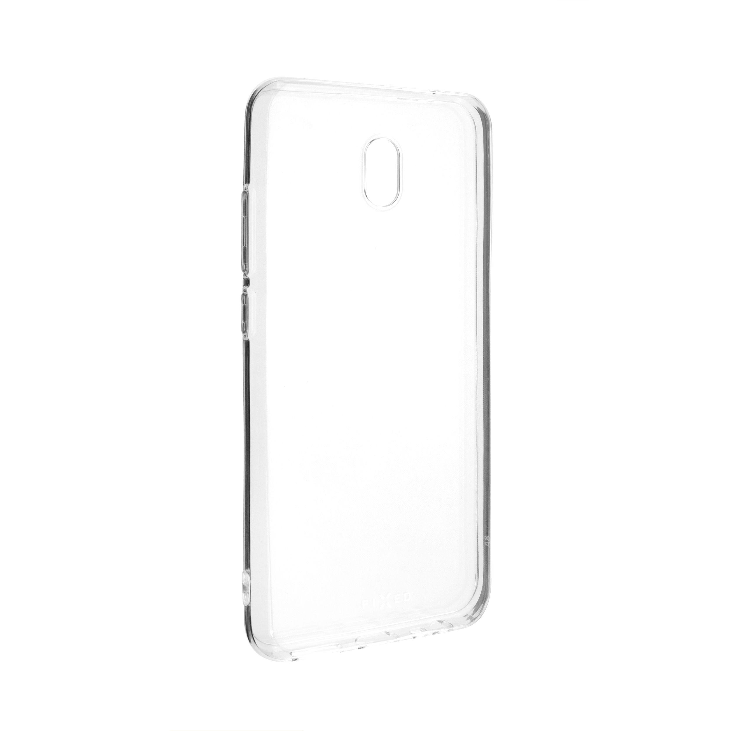 Ultratenké TPU gelové pouzdro FIXED Skin pro Xiaomi Redmi 8A, 0,6 mm, čiré