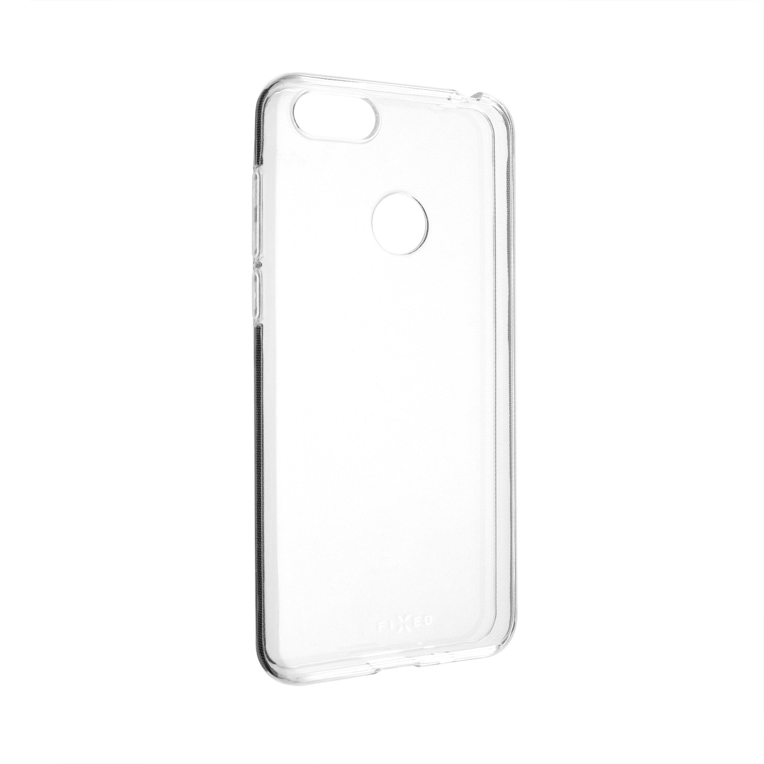 TPU gelové pouzdro FIXED pro Motorola Moto E6 Play, čiré