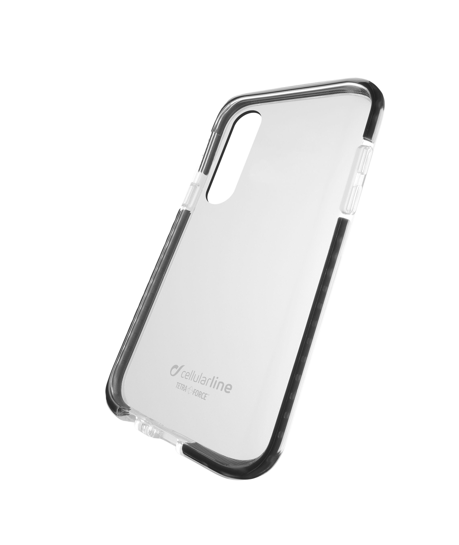 Ultra ochranné pouzdro Cellularline Tetra Force Shock-Twist pro Samsung Galaxy A50/30s, 2 stupně ochrany, transparentní