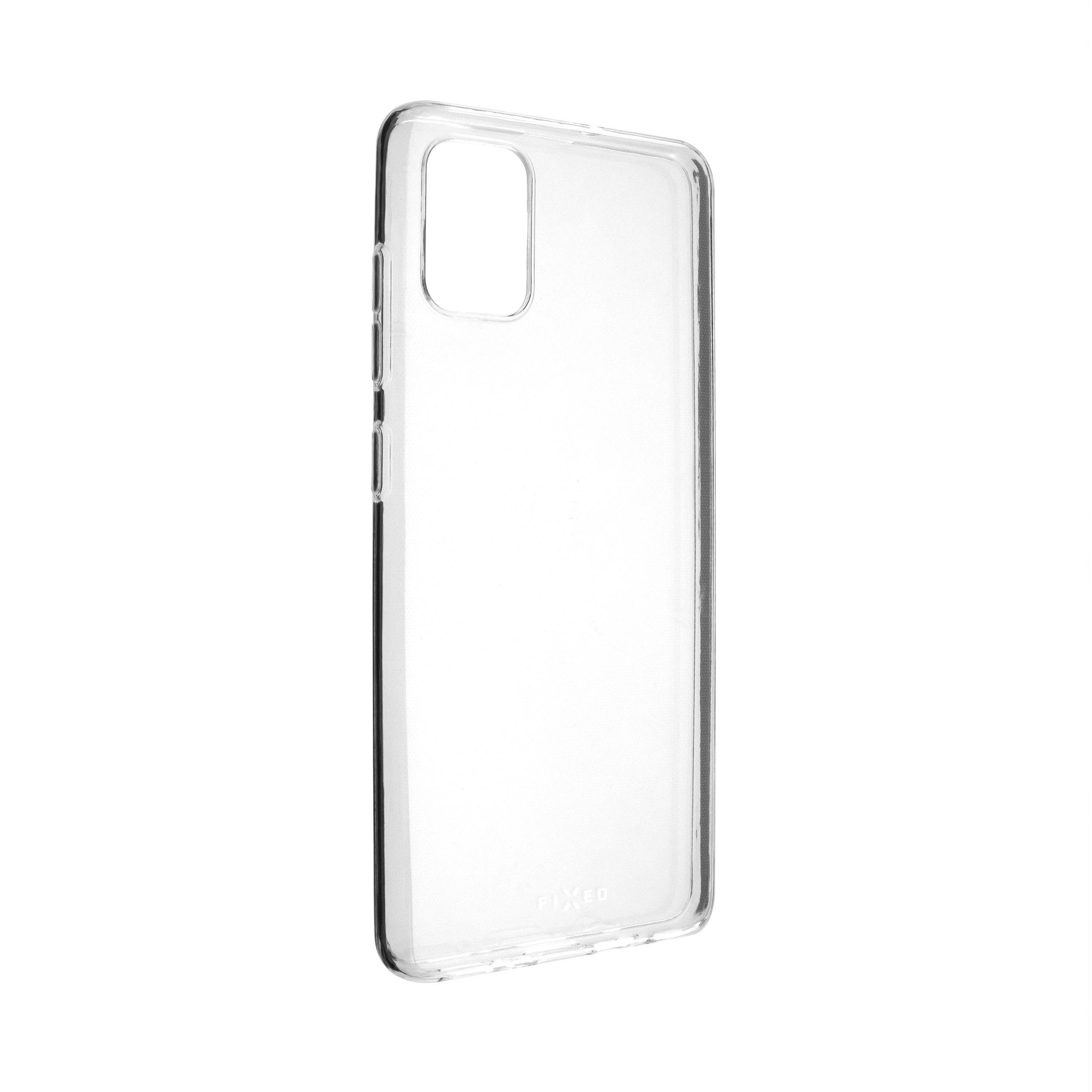 Ultratenké TPU gelové pouzdro FIXED Skin pro Samsung Galaxy A51, 0,6 mm, čiré