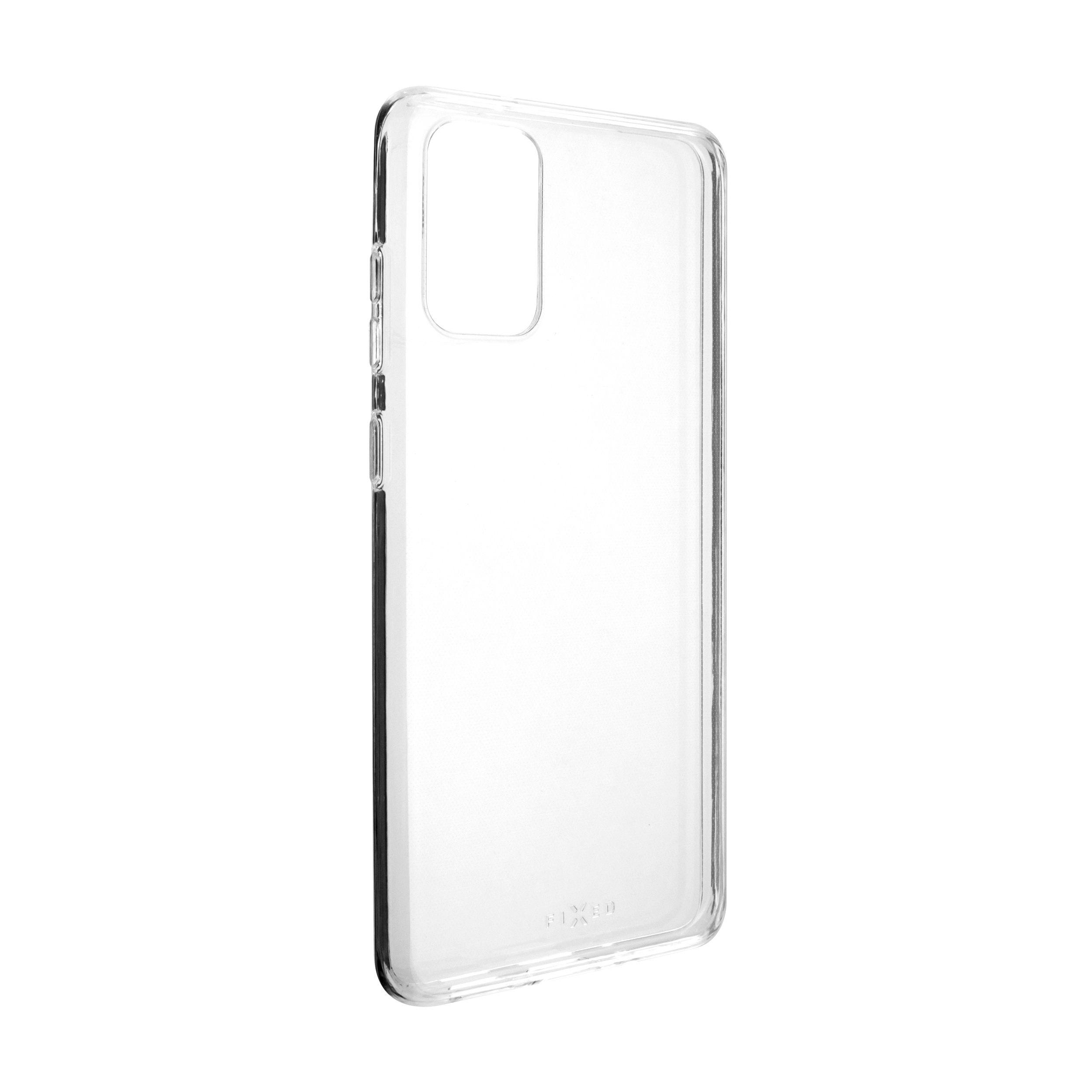 Ultratenké TPU gelové pouzdro FIXED Skin pro Samsung Galaxy S20+, 0,6 mm, čiré