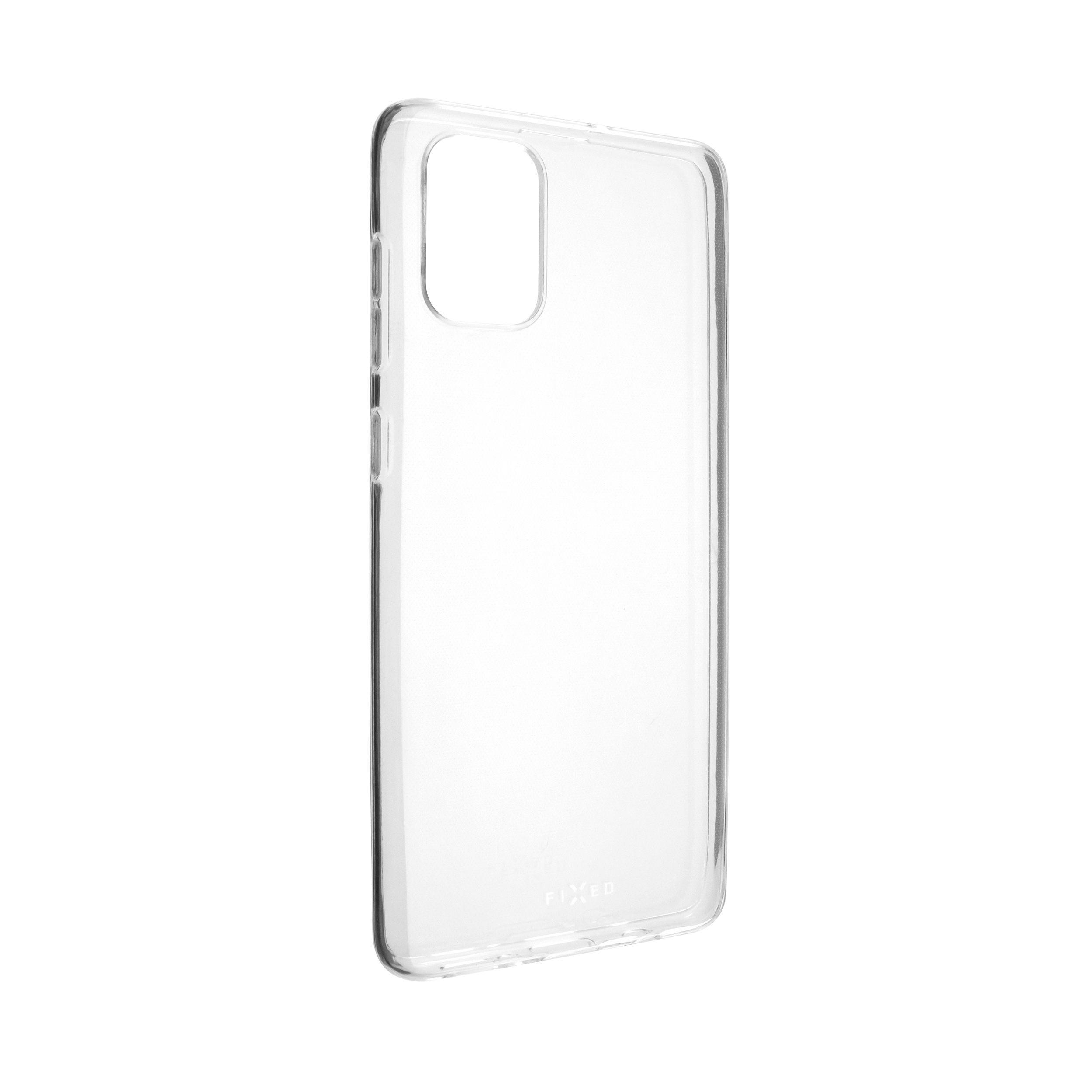 Ultratenké TPU gelové pouzdro FIXED Skin pro Samsung Galaxy A71, 0,6 mm, čiré