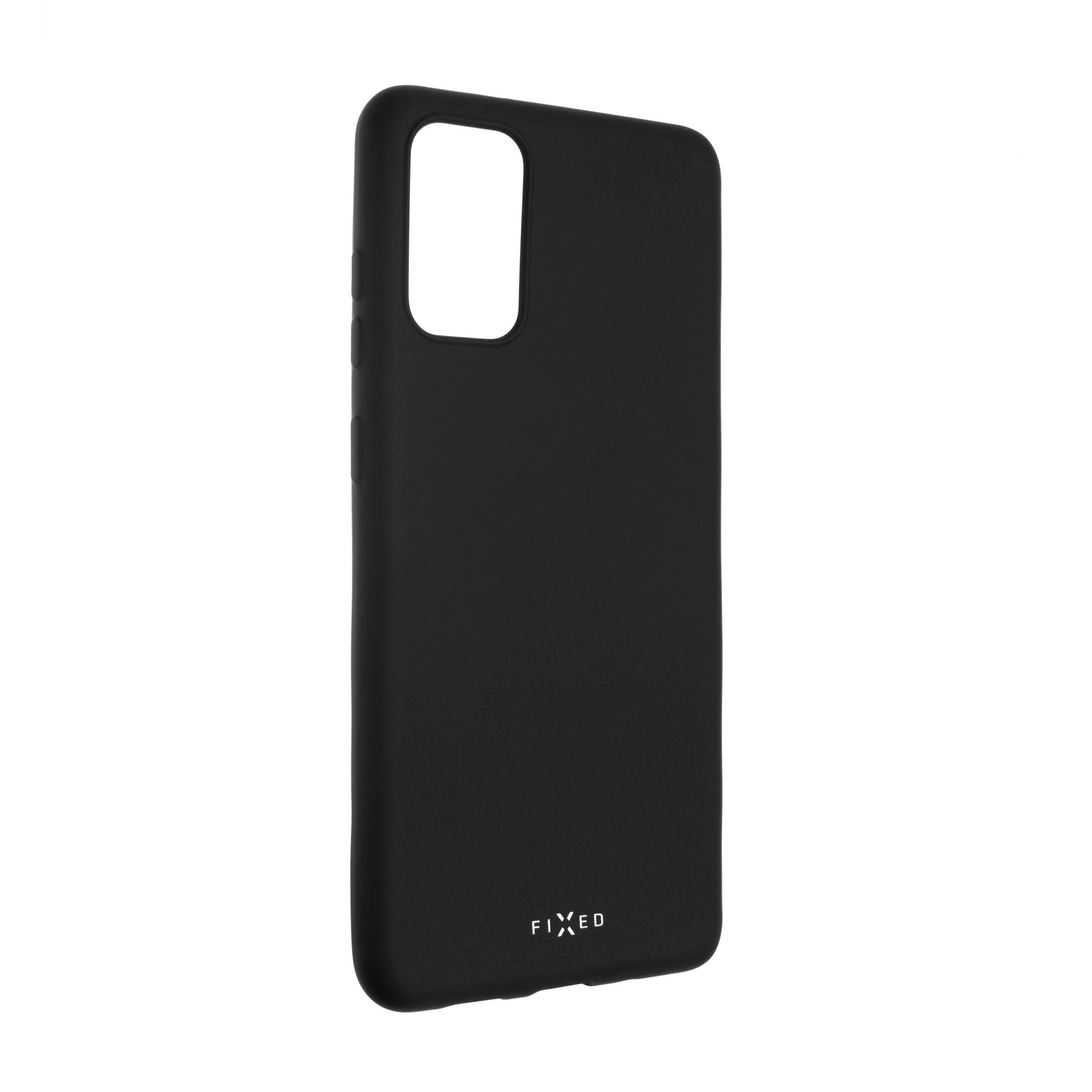 Zadní pogumovaný kryt FIXED Story pro Samsung Galaxy S20+, černý