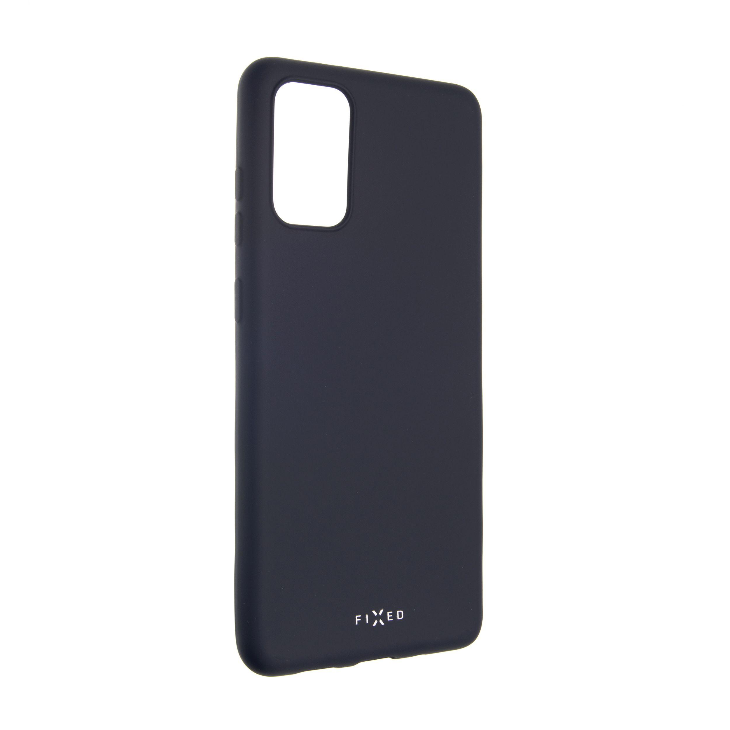 Zadní pogumovaný kryt FIXED Story pro Samsung Galaxy S20+, modrý