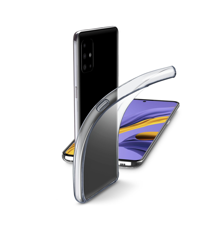 Extratenký zadní kryt Cellularline Fine pro Samsung Galaxy A51, bezbarvý