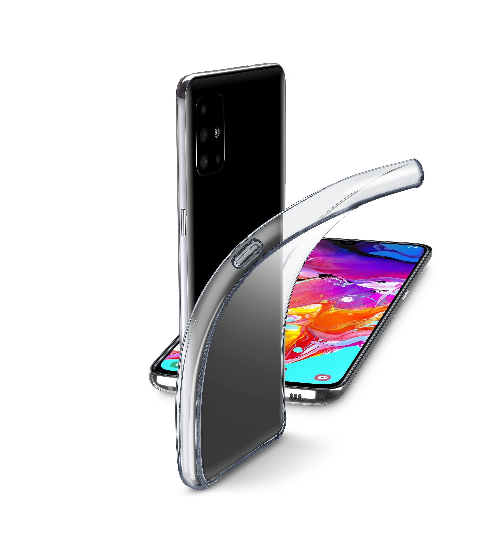 Extratenký zadní kryt Cellularline Fine pro Samsung Galaxy A71, bezbarvý