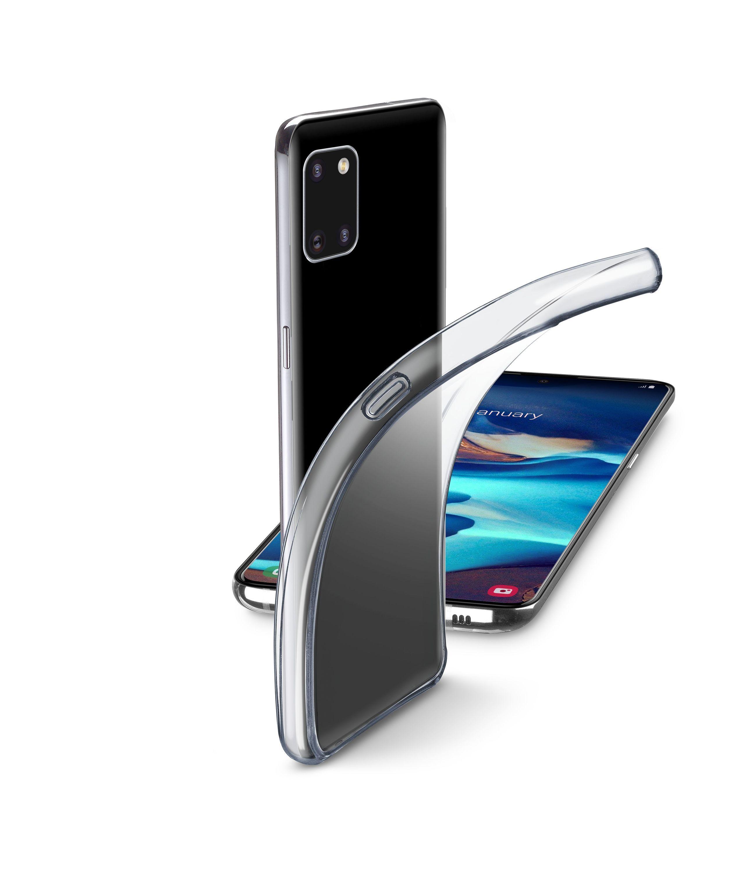 Extratenký zadní kryt Cellularline Fine pro Samsung Galaxy A91, bezbarvý
