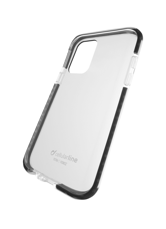 Ultra ochranné pouzdro Cellularline Tetra Force Shock-Twist pro Samsung Galaxy A91, 2 stupně ochrany, transparentní