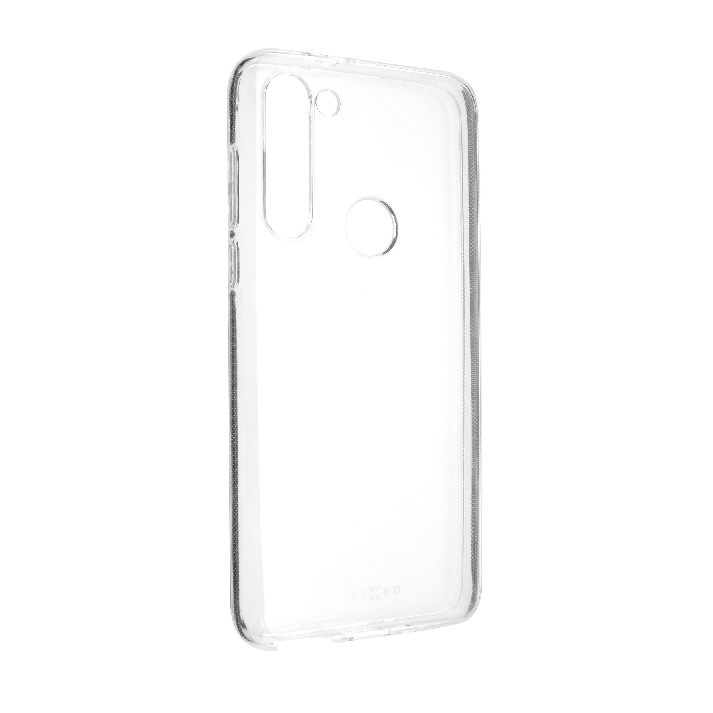 TPU gelové pouzdro FIXED pro Motorola G8 Power, čiré