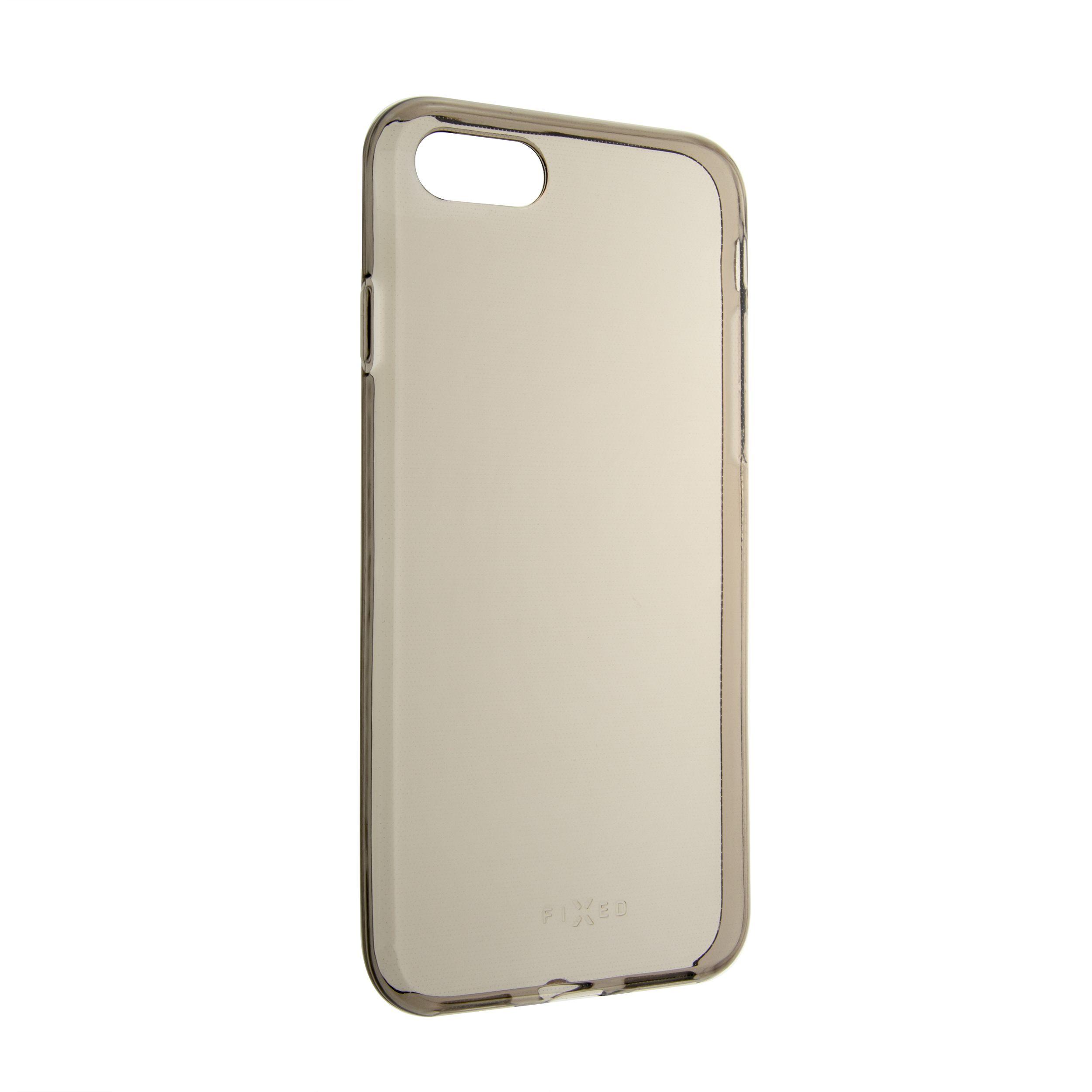 TPU gelové pouzdro FIXED Slim pro Apple iPhone 7/8/SE (2020), 0,6 mm, kouřové