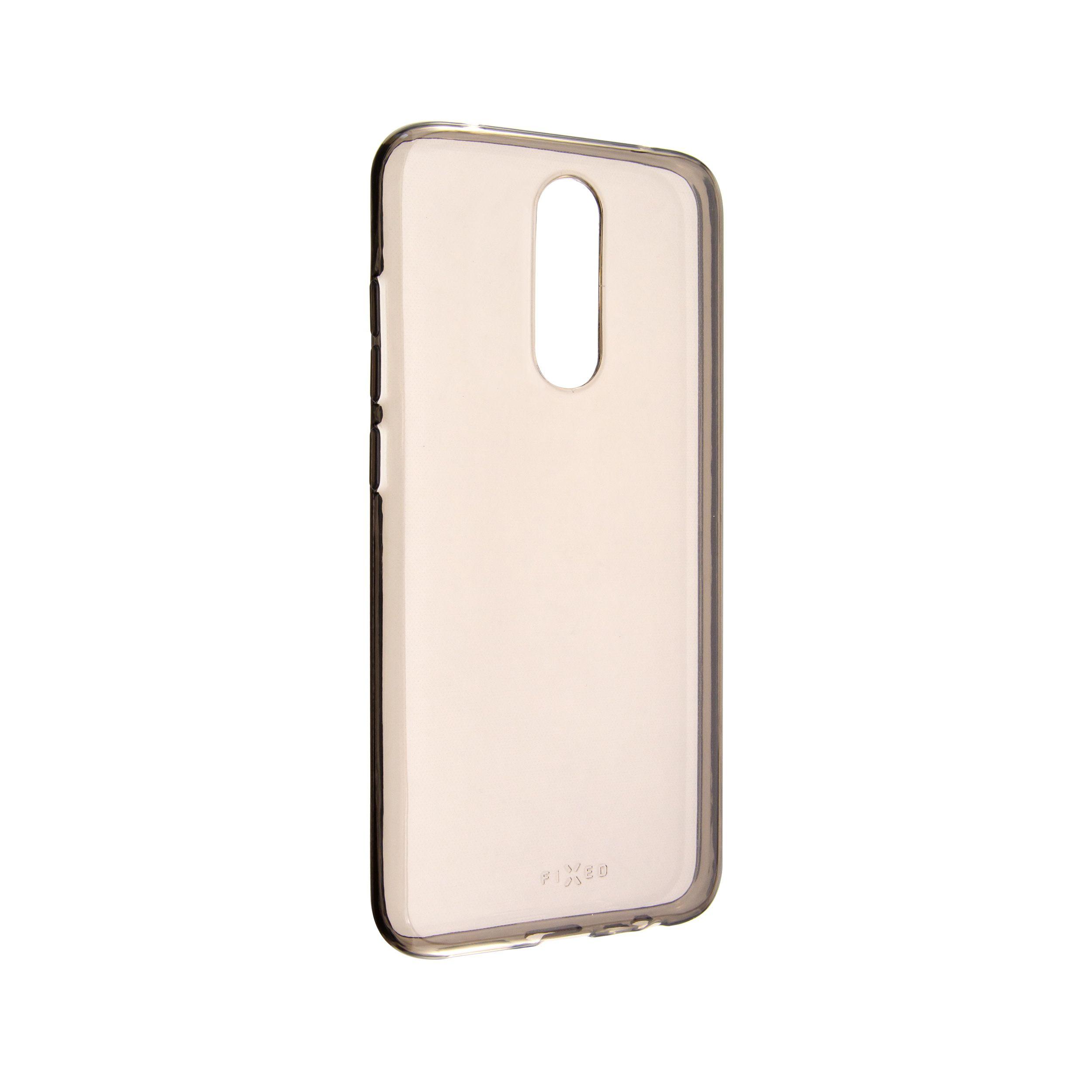 TPU gelové pouzdro FIXED Slim pro Xiaomi Redmi 8, 0,6 mm, kouřové