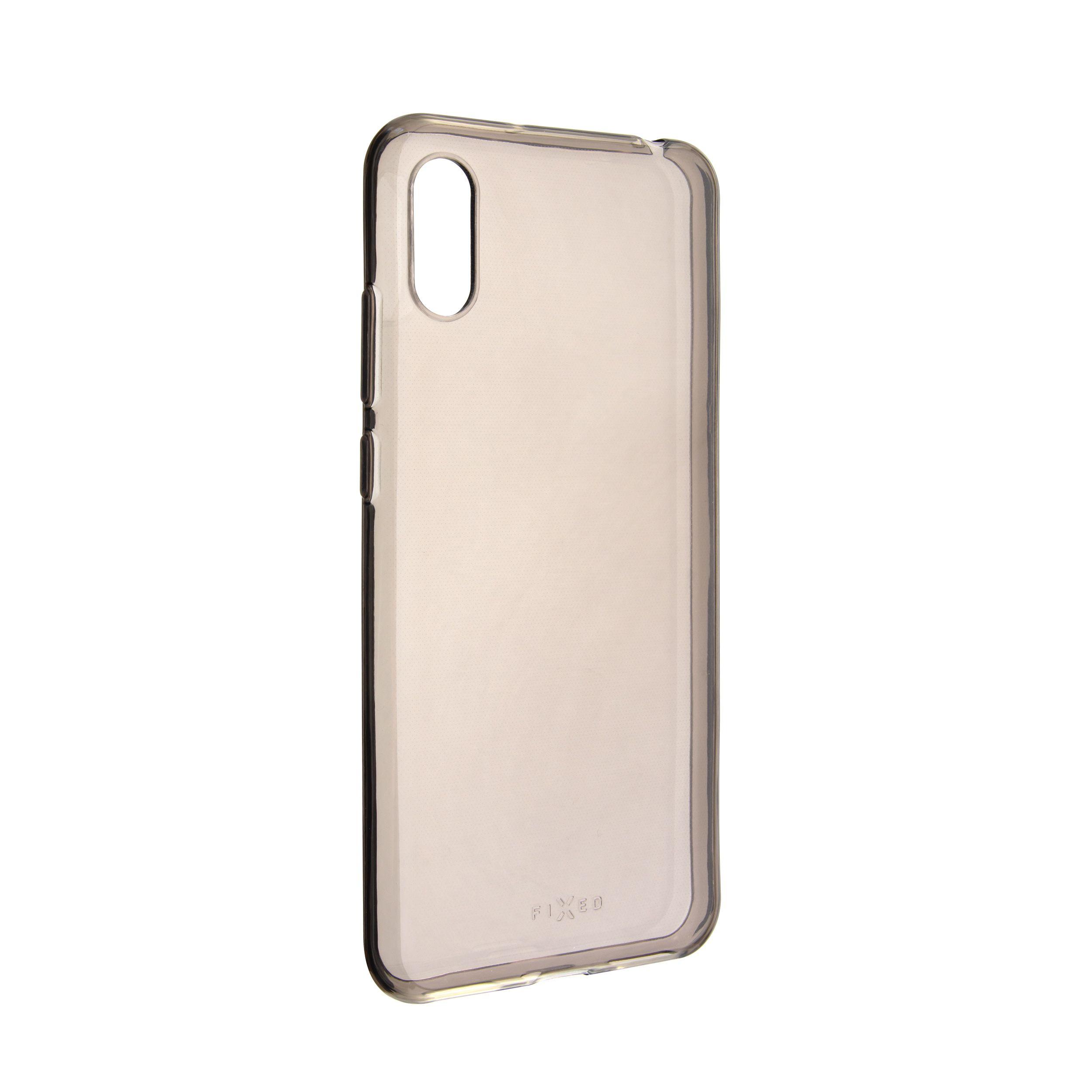 TPU gelové pouzdro FIXED Slim pro Huawei Y6 (2019), 0,6 mm, kouřové