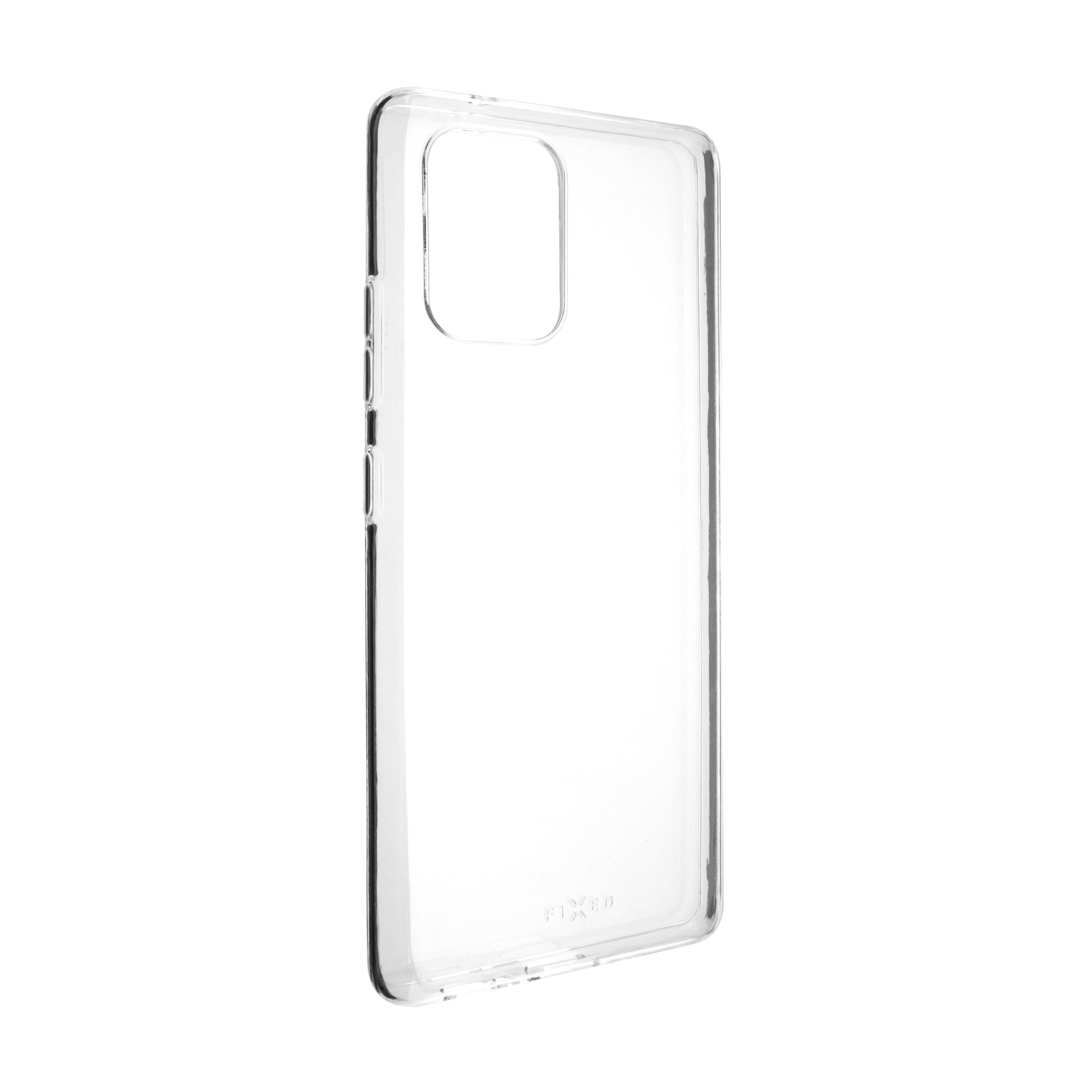 Ultratenké TPU gelové pouzdro FIXED Skin pro Samsung Galaxy S10 Lite, 0,6 mm, čiré