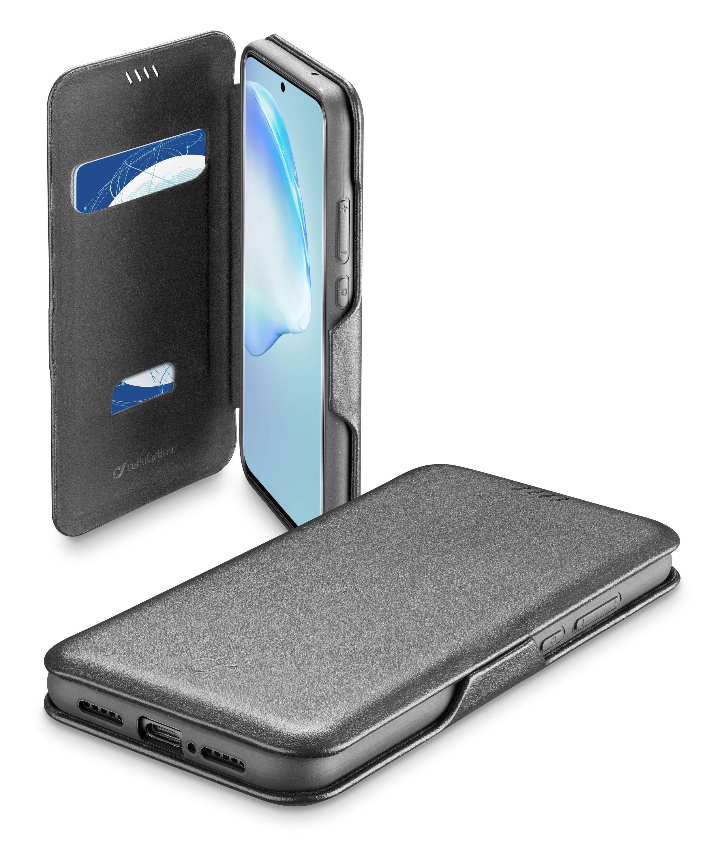 Pouzdro typu kniha Cellularline Book Clutch pro Samsung Galaxy S20+, černé