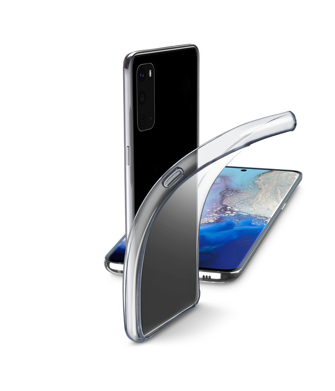 Extratenký zadní kryt Cellularline Fine pro Samsung Galaxy S20, bezbarvý