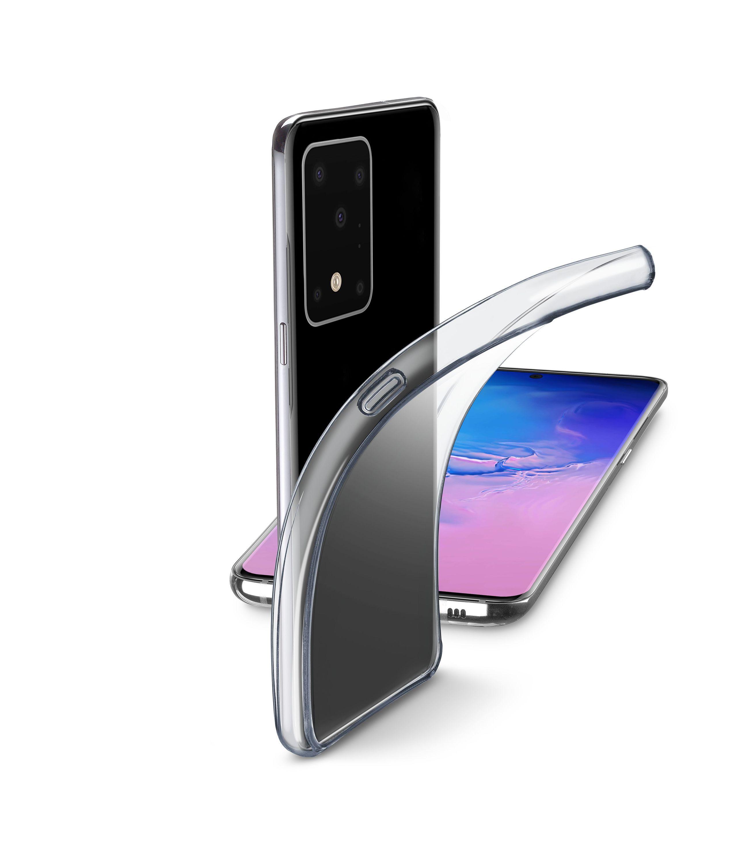 Extratenký zadní kryt Cellularline Fine pro Samsung Galaxy S20 Ultra, bezbarvý